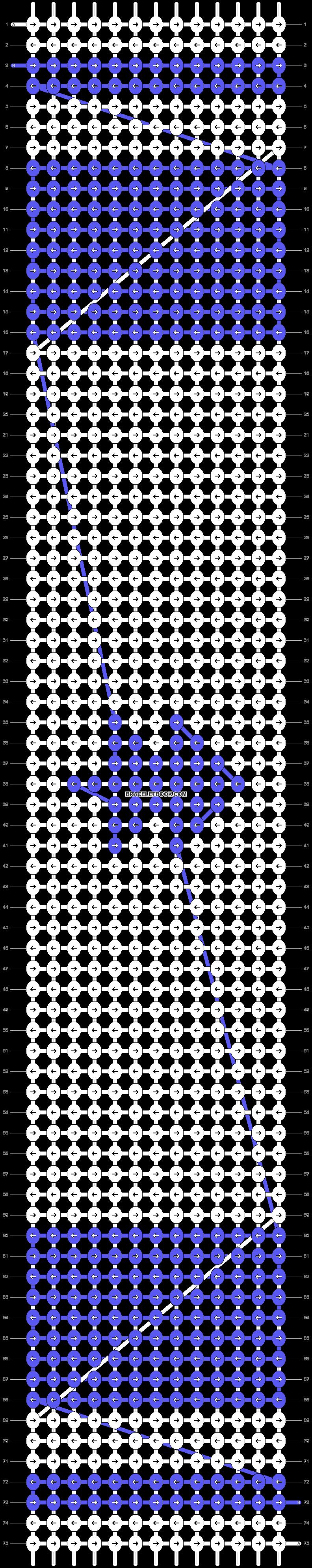Alpha pattern #87212 pattern