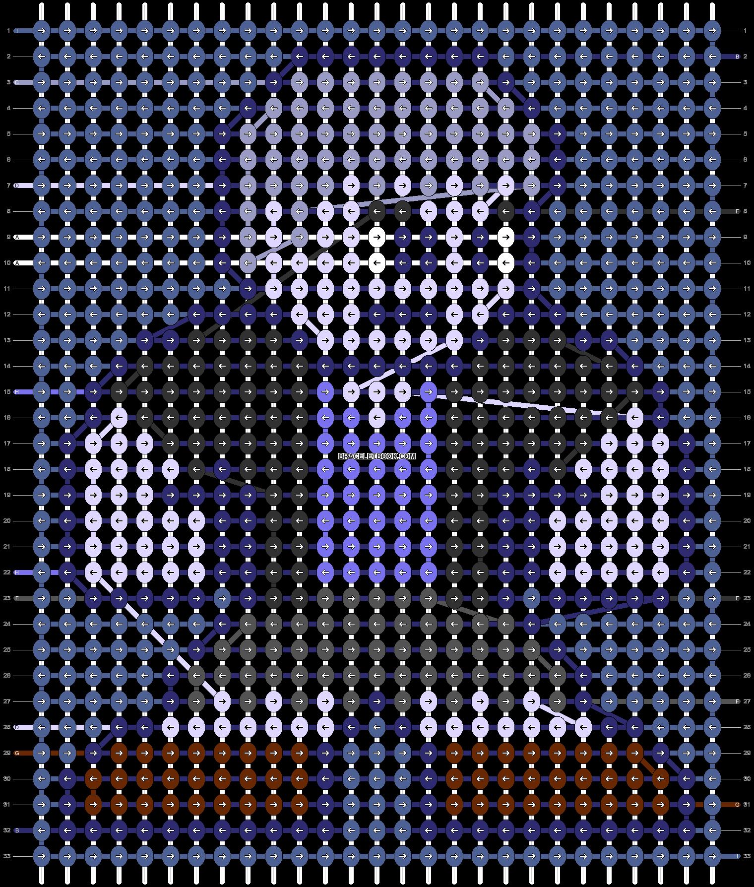 Alpha pattern #87215 pattern