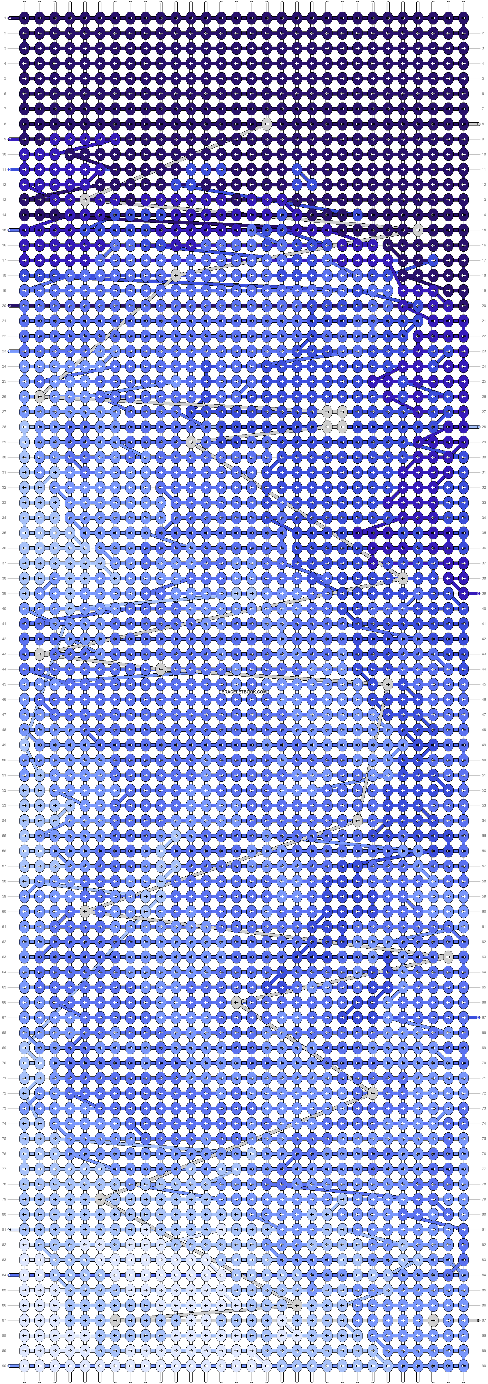 Alpha pattern #87249 pattern