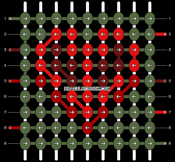 Alpha pattern #87262 pattern
