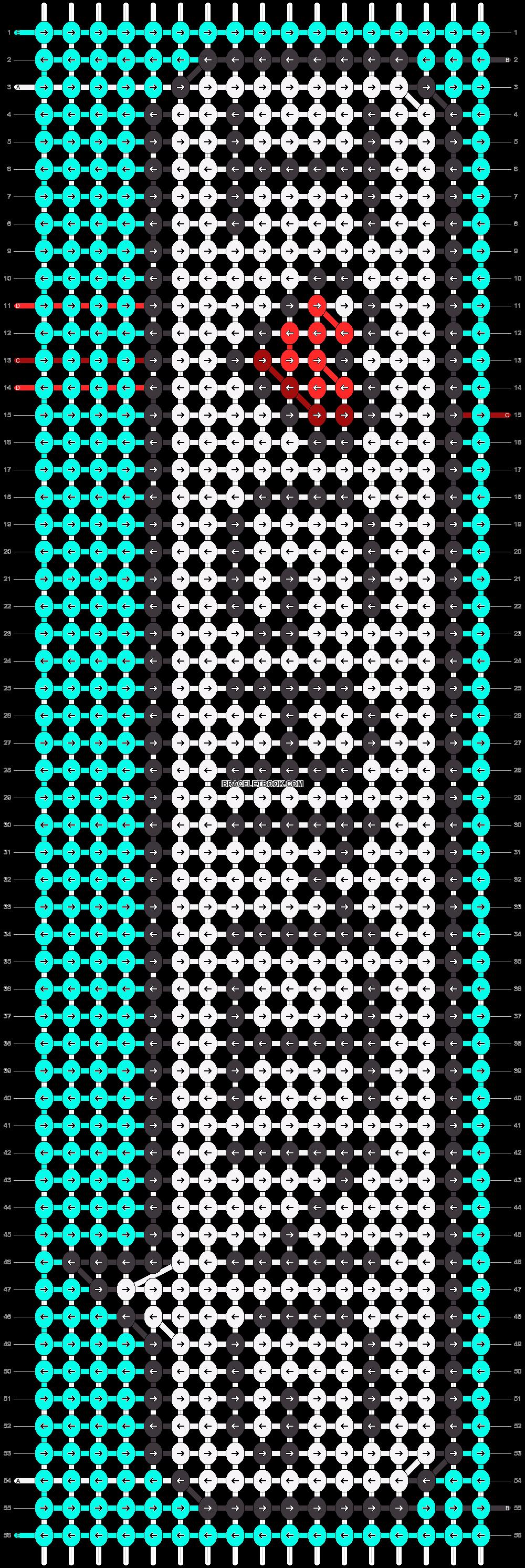 Alpha pattern #87272 pattern