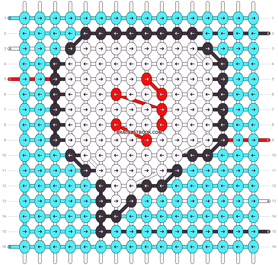 Alpha pattern #87273 pattern
