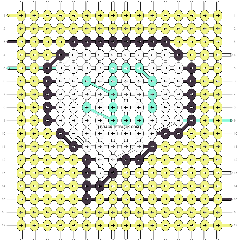 Alpha pattern #87281 pattern