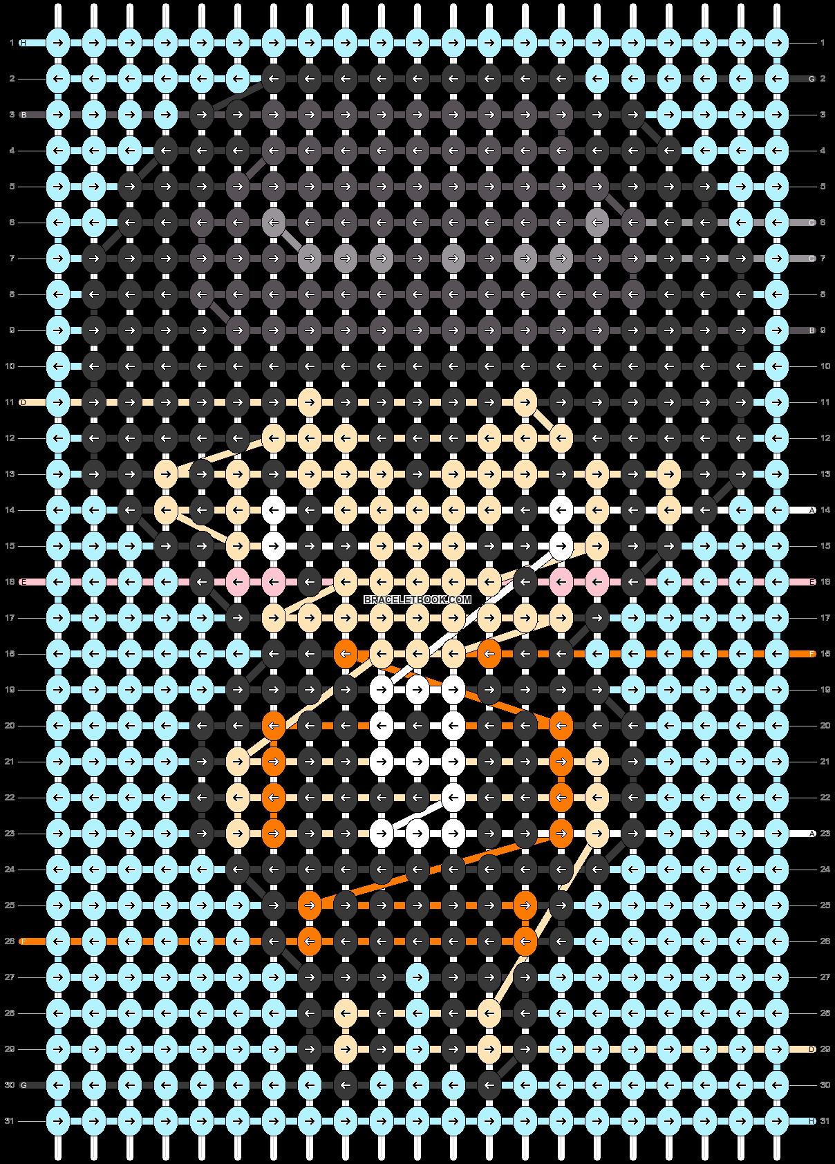 Alpha pattern #87288 pattern