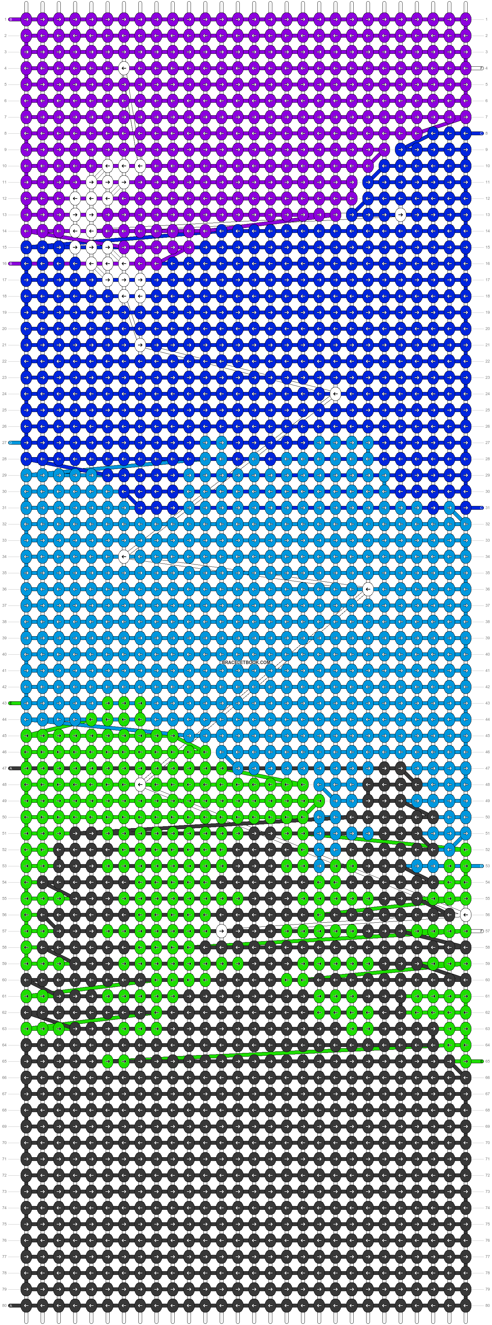 Alpha pattern #87295 pattern