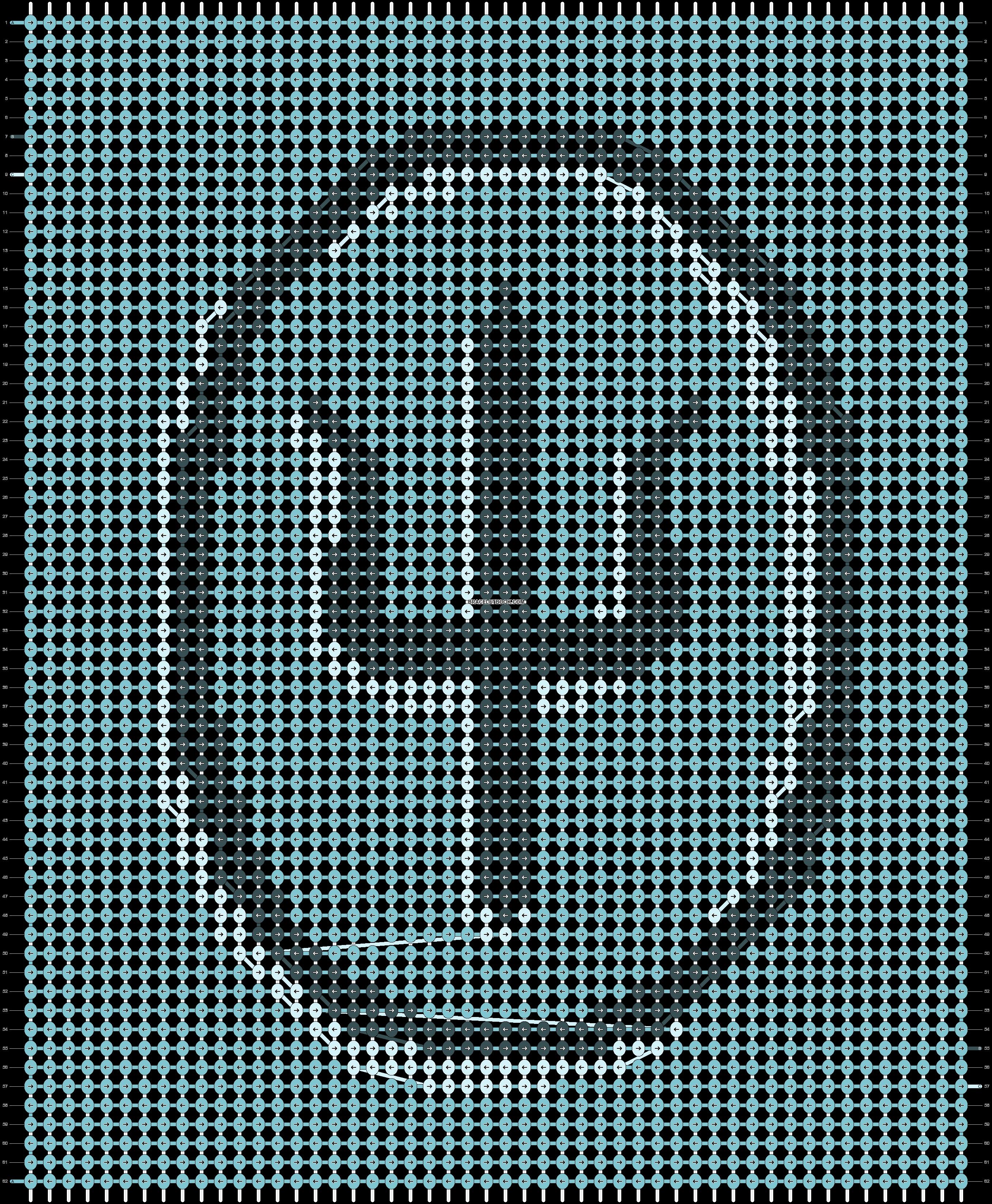 Alpha pattern #87316 pattern