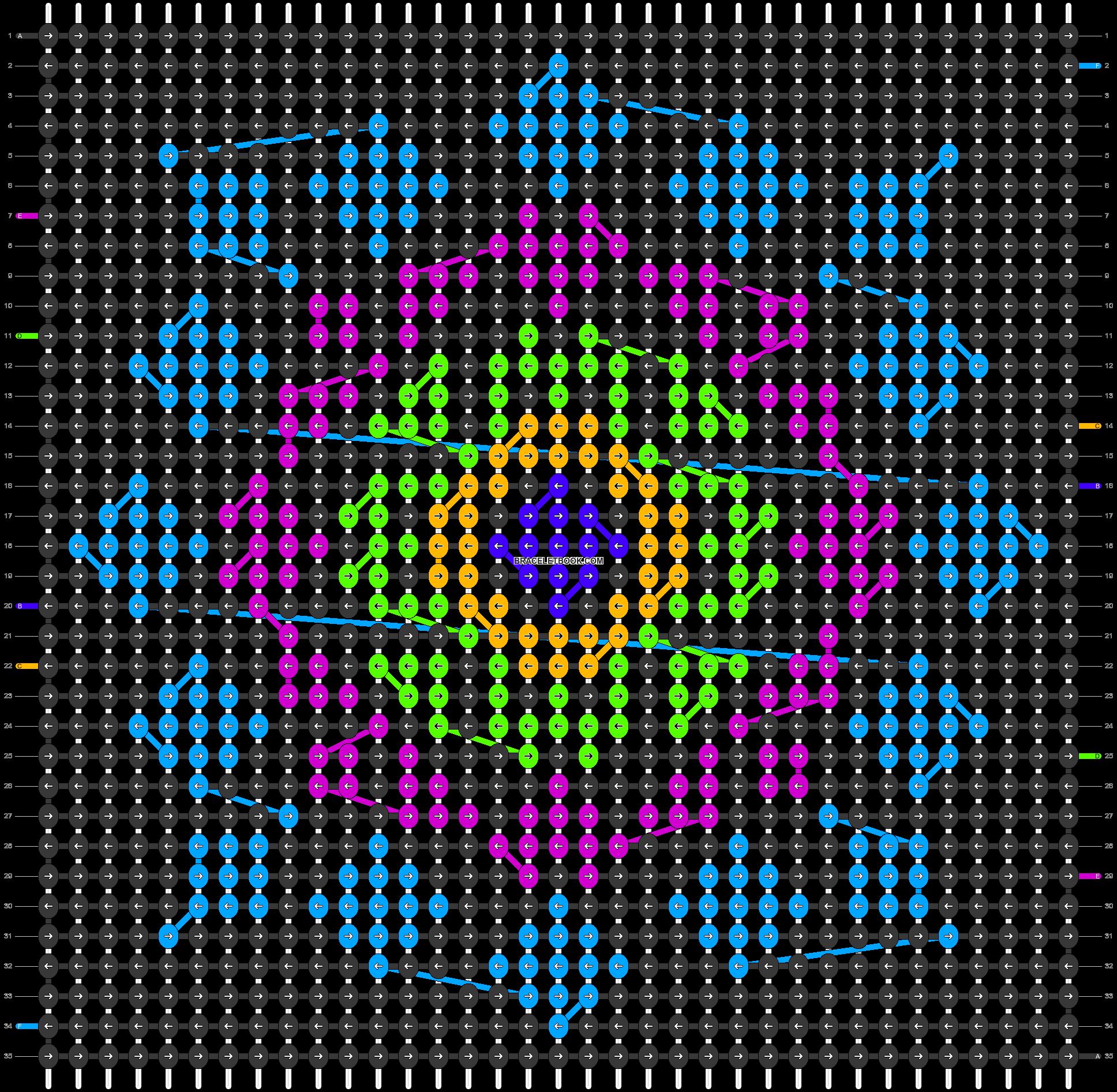 Alpha pattern #87322 pattern