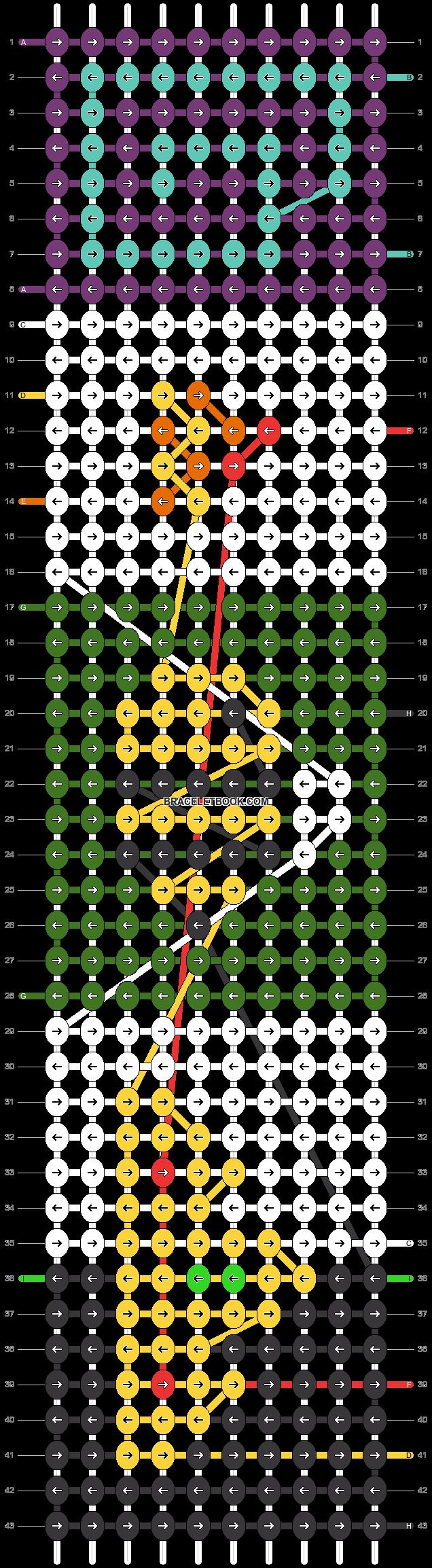 Alpha pattern #87332 pattern