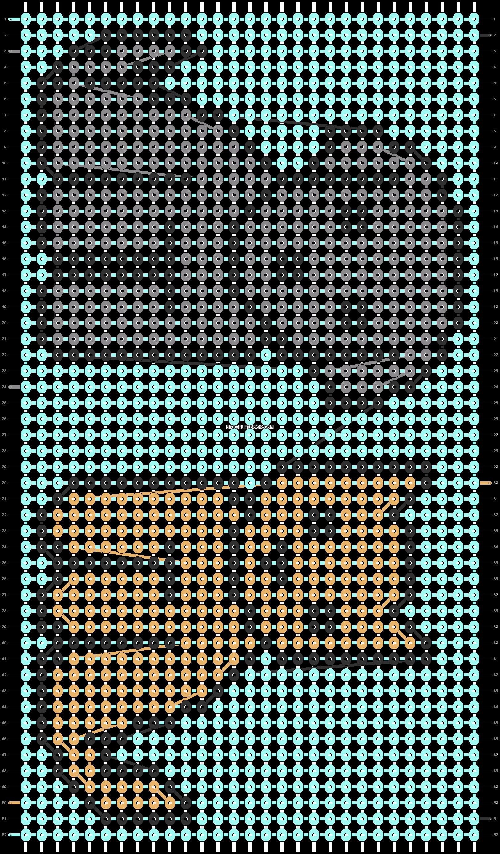 Alpha pattern #87373 pattern