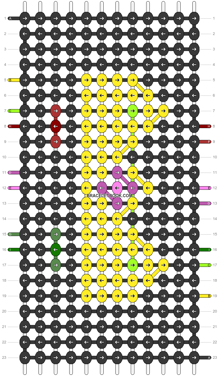 Alpha pattern #87388 pattern