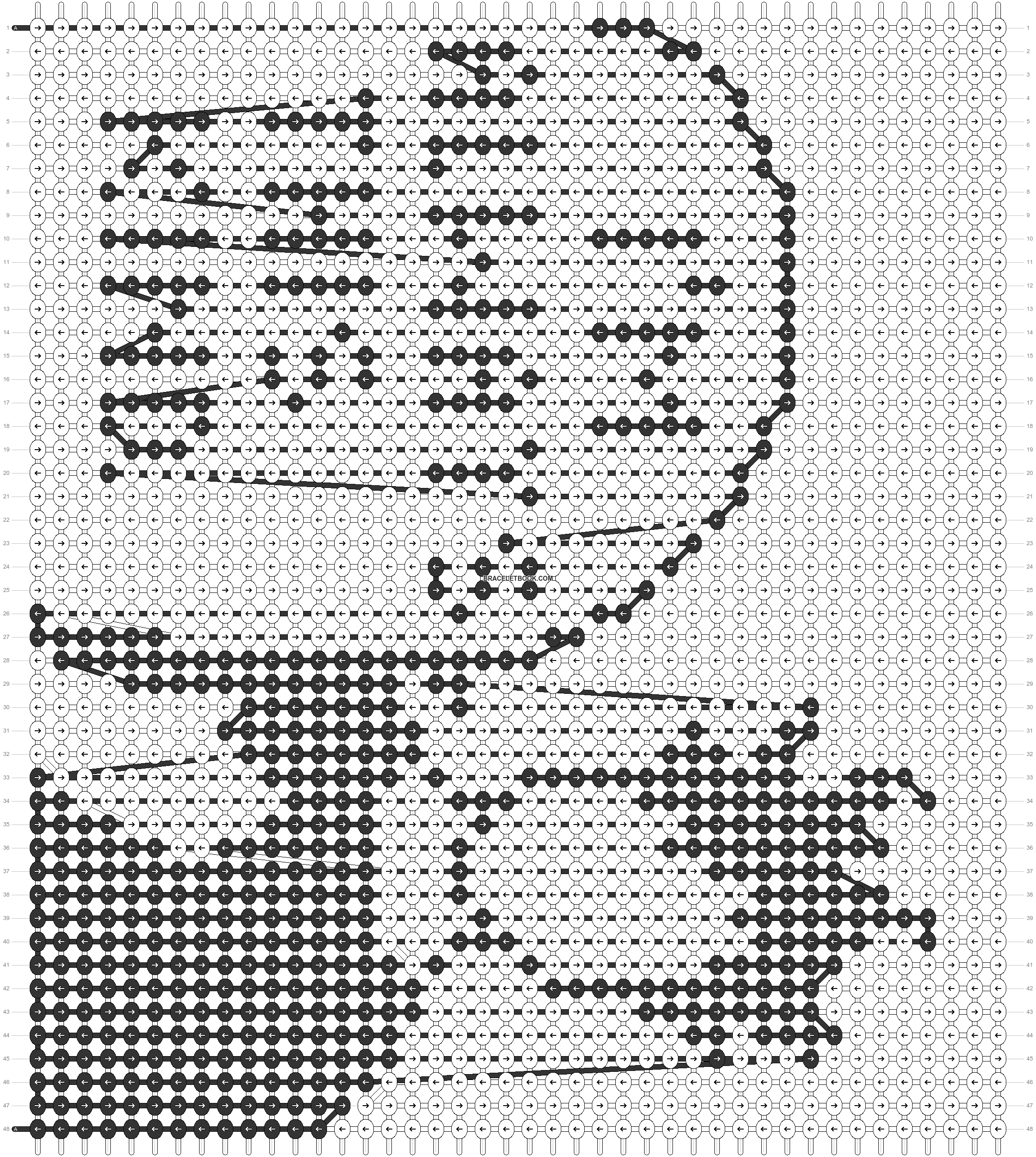 Alpha pattern #87409 pattern