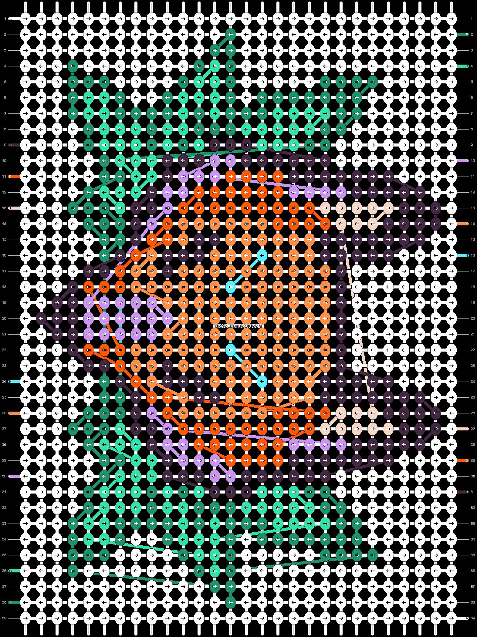 Alpha pattern #87413 pattern