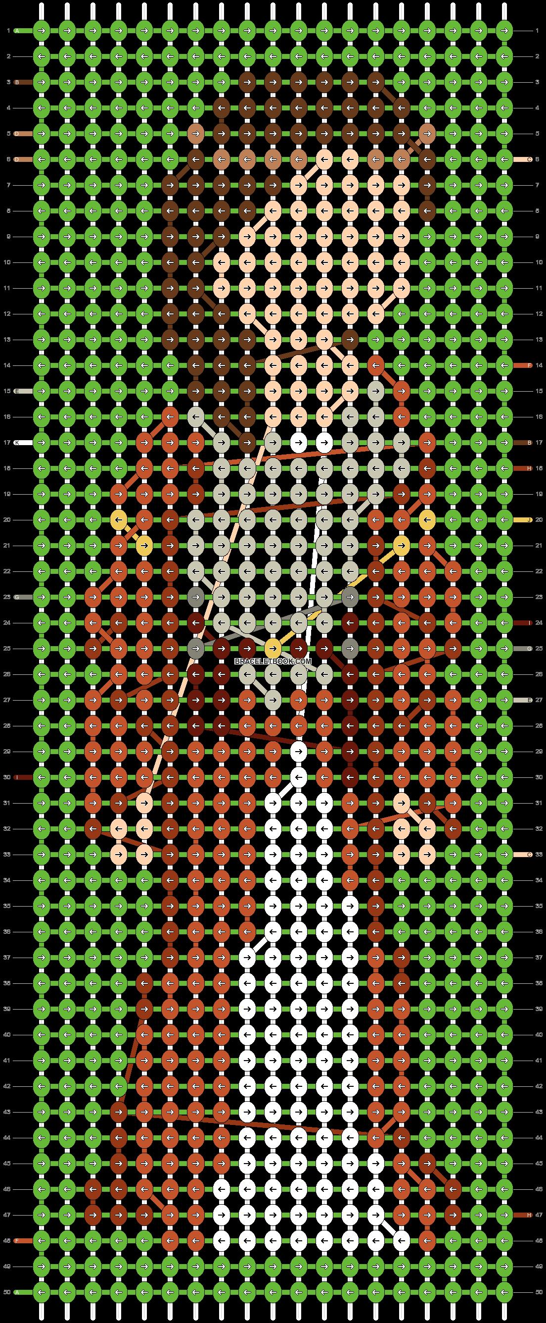 Alpha pattern #87415 pattern