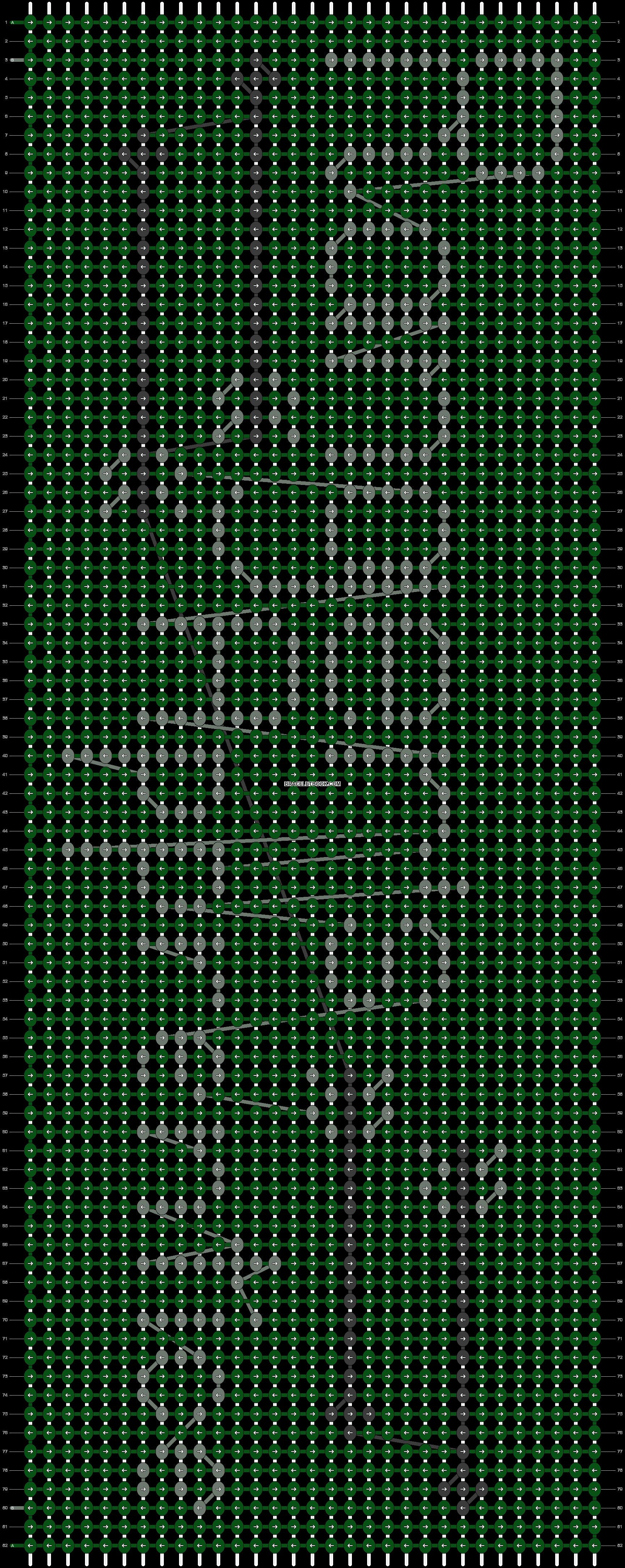 Alpha pattern #87419 pattern
