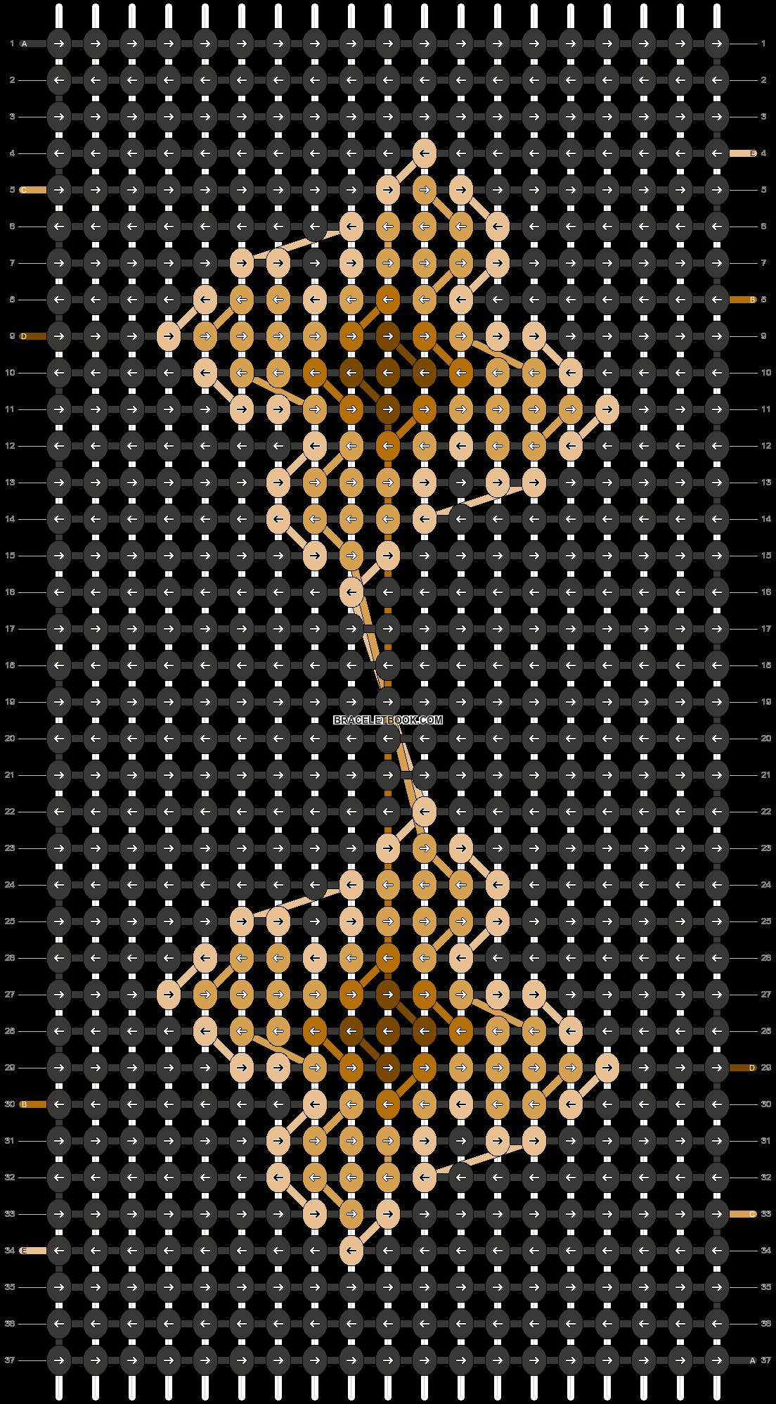 Alpha pattern #87460 pattern