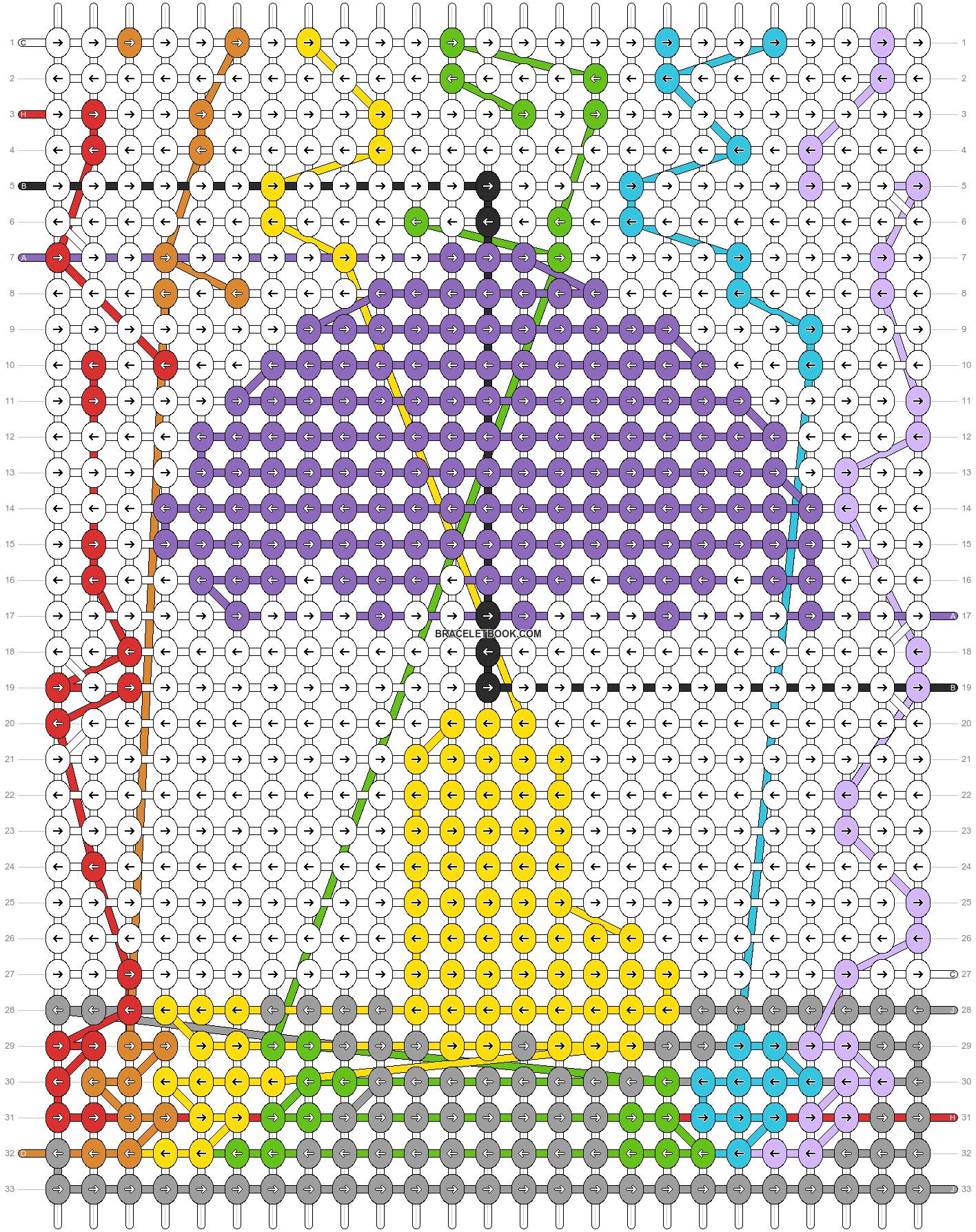 Alpha pattern #87470 pattern