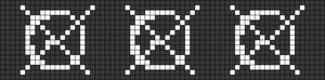 Alpha pattern #87474