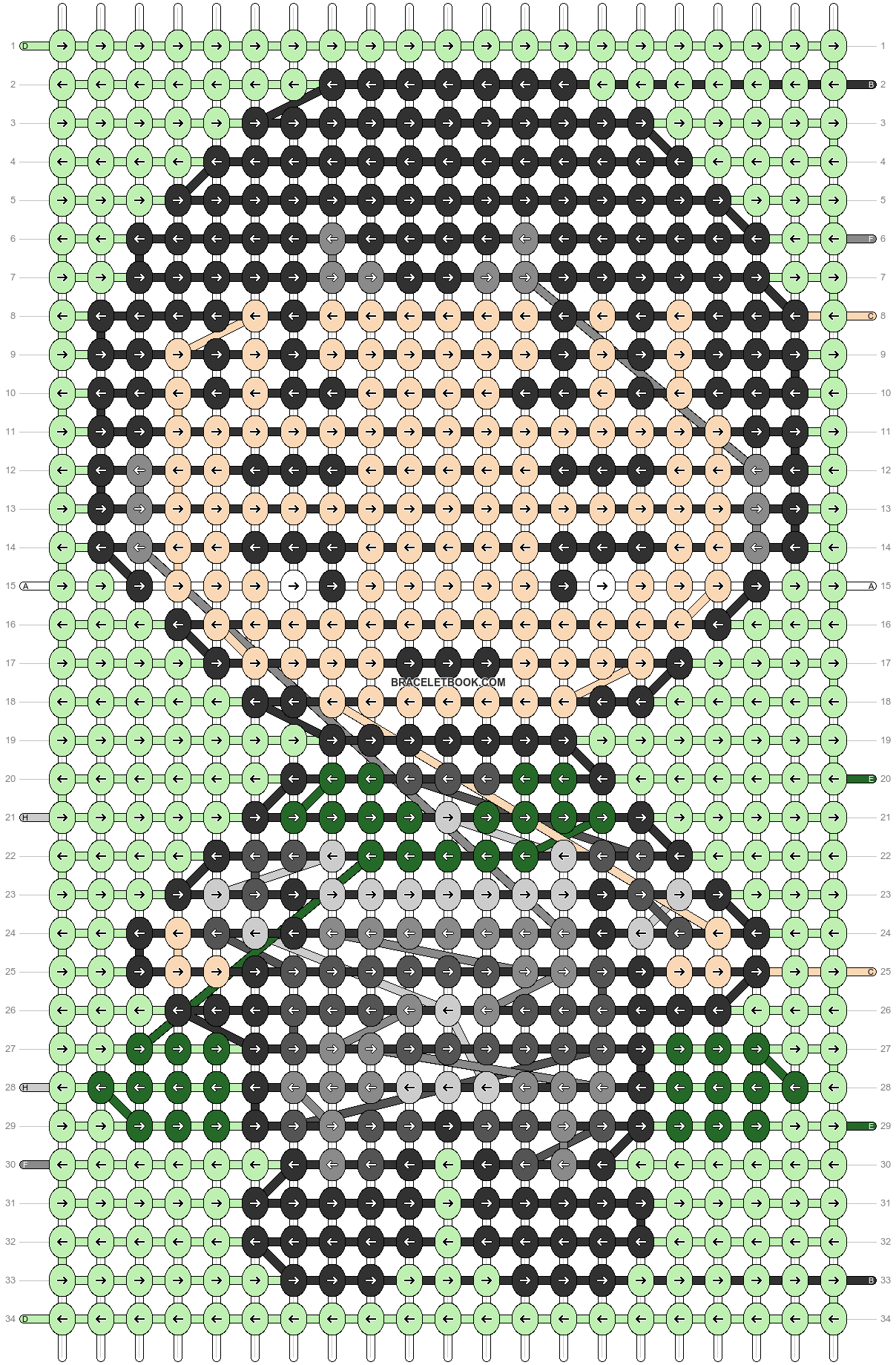Alpha pattern #87503 pattern