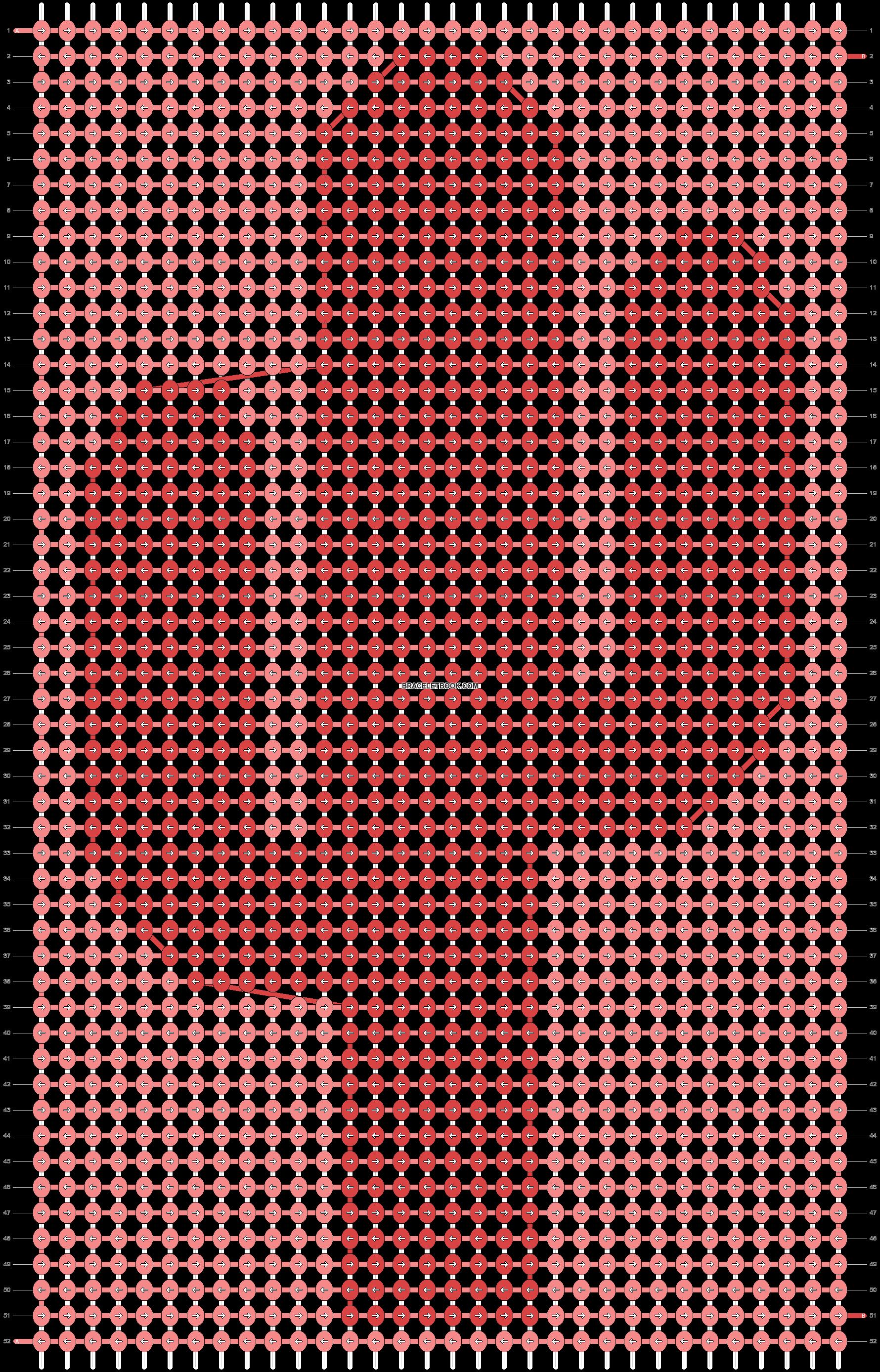 Alpha pattern #87505 pattern