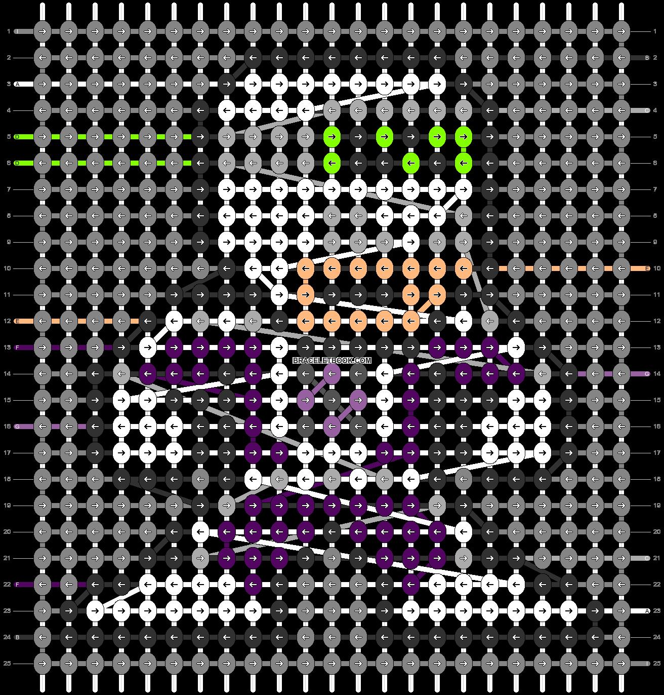 Alpha pattern #87518 pattern