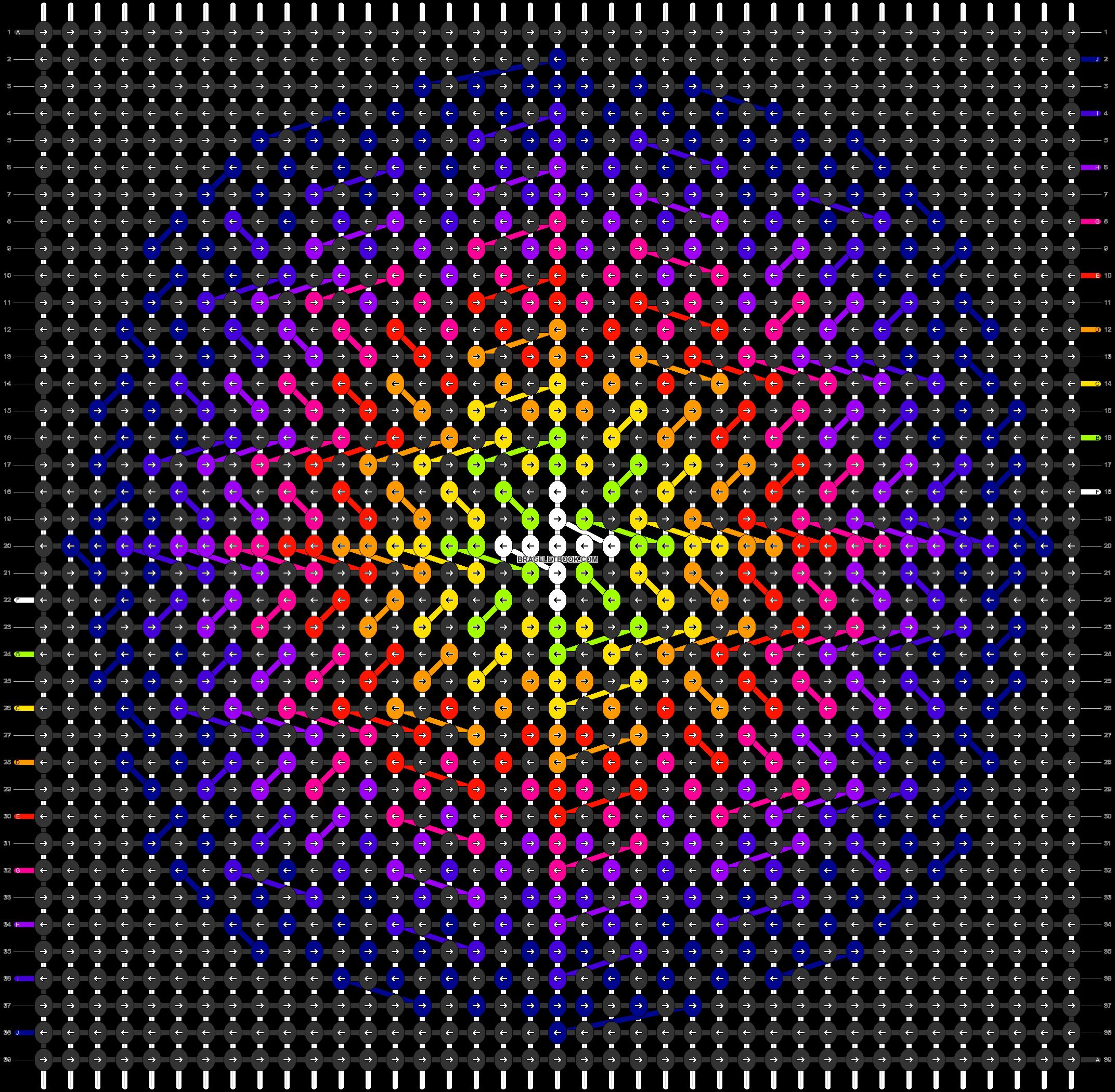 Alpha pattern #87523 pattern