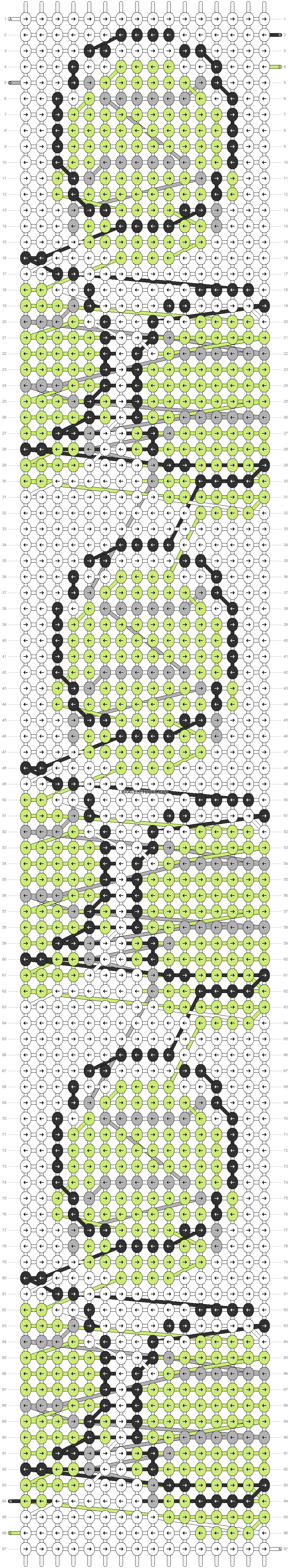 Alpha pattern #87547 pattern