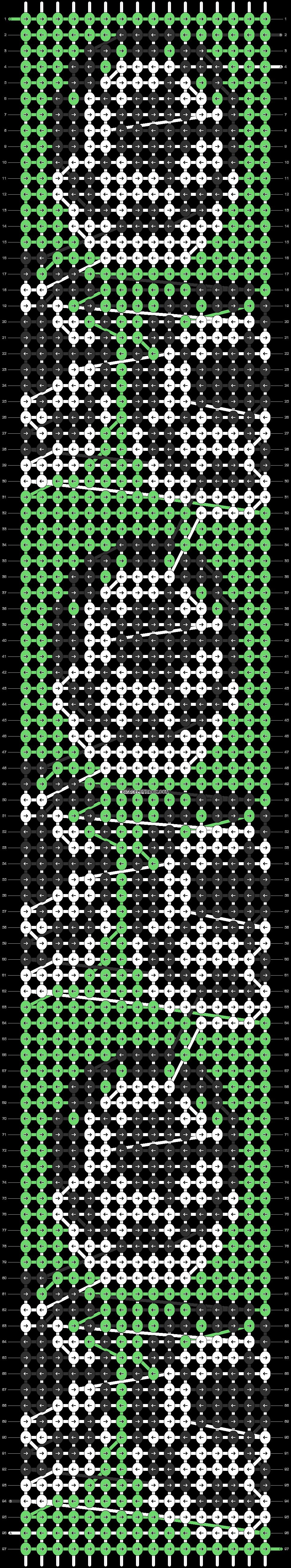 Alpha pattern #87551 pattern