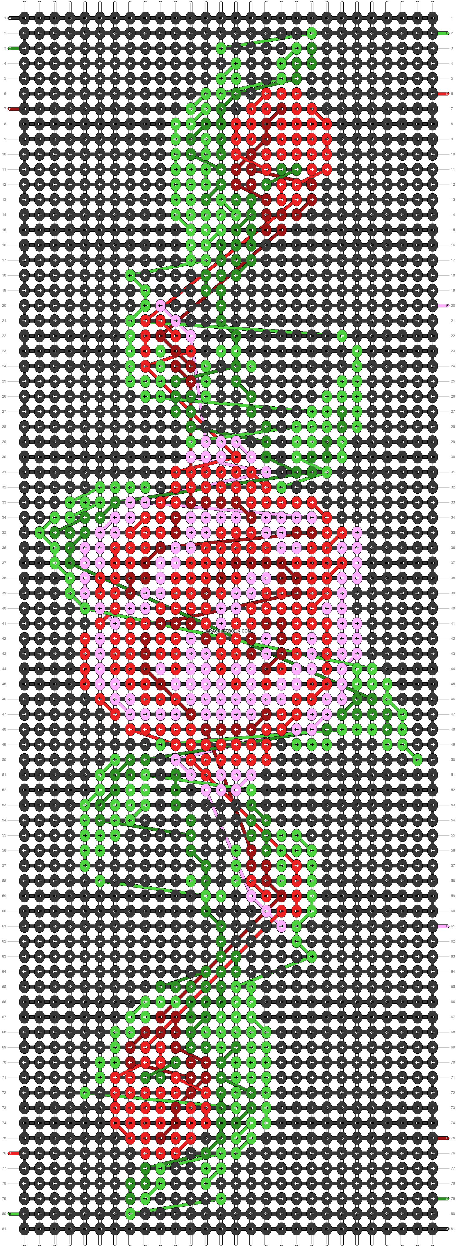 Alpha pattern #87566 pattern