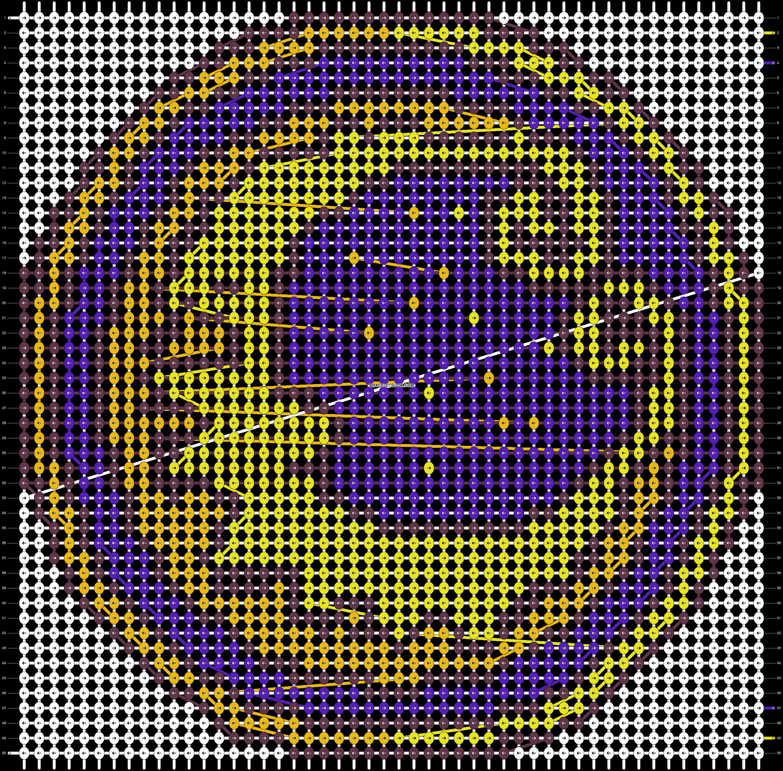 Alpha pattern #87612 pattern