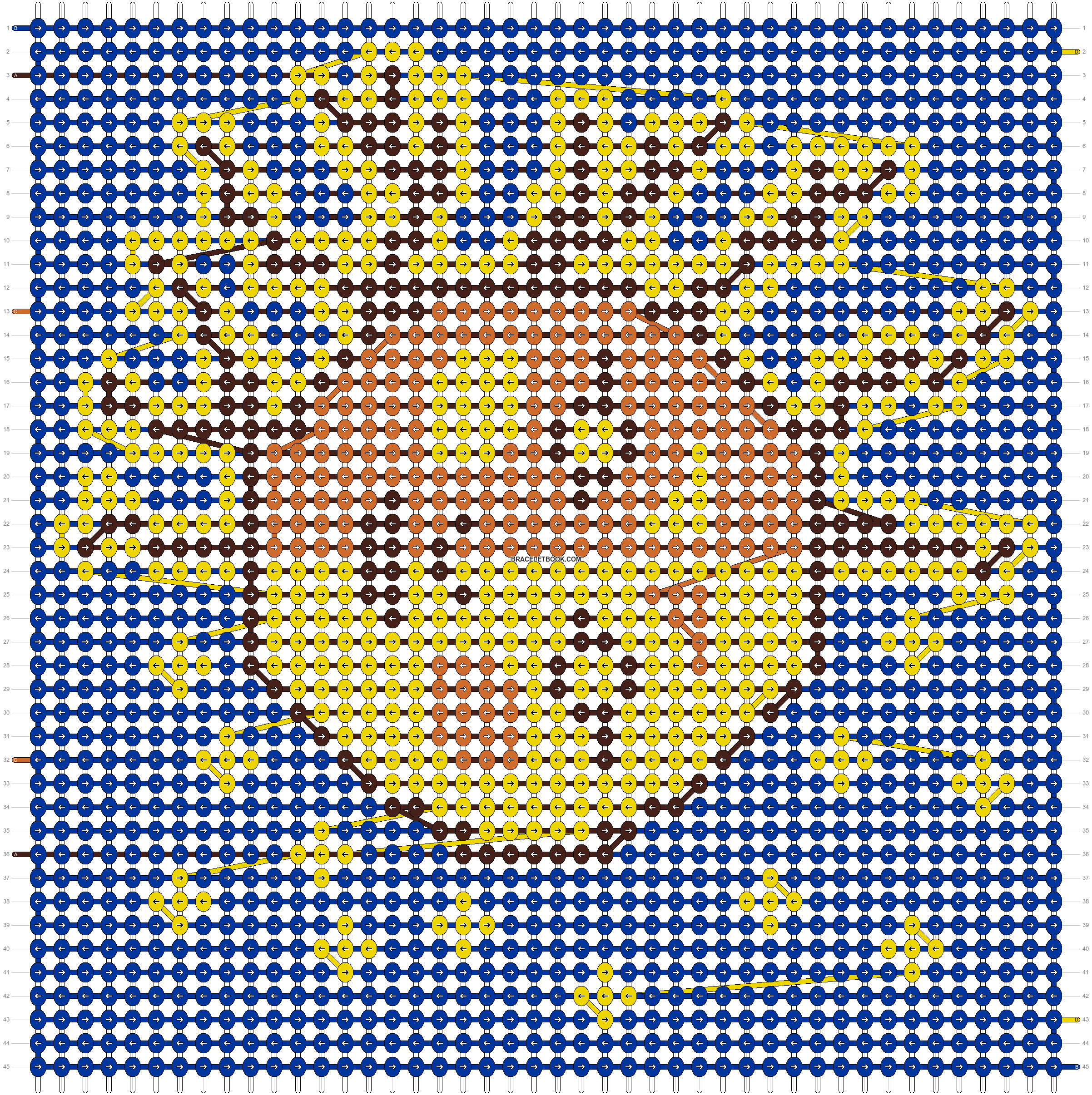 Alpha pattern #87622 pattern