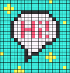 Alpha pattern #87623
