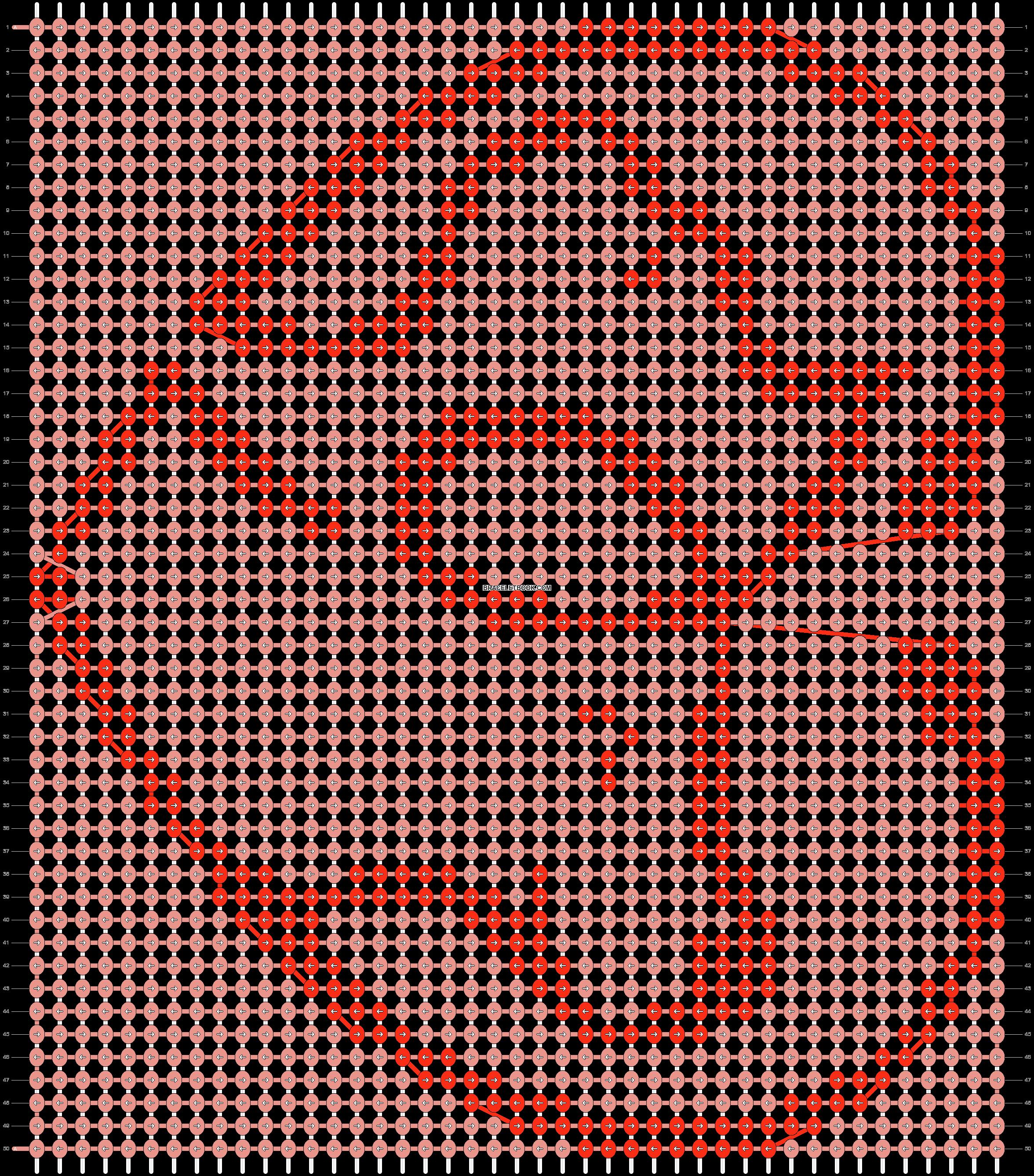 Alpha pattern #87655 pattern