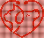 Alpha pattern #87655