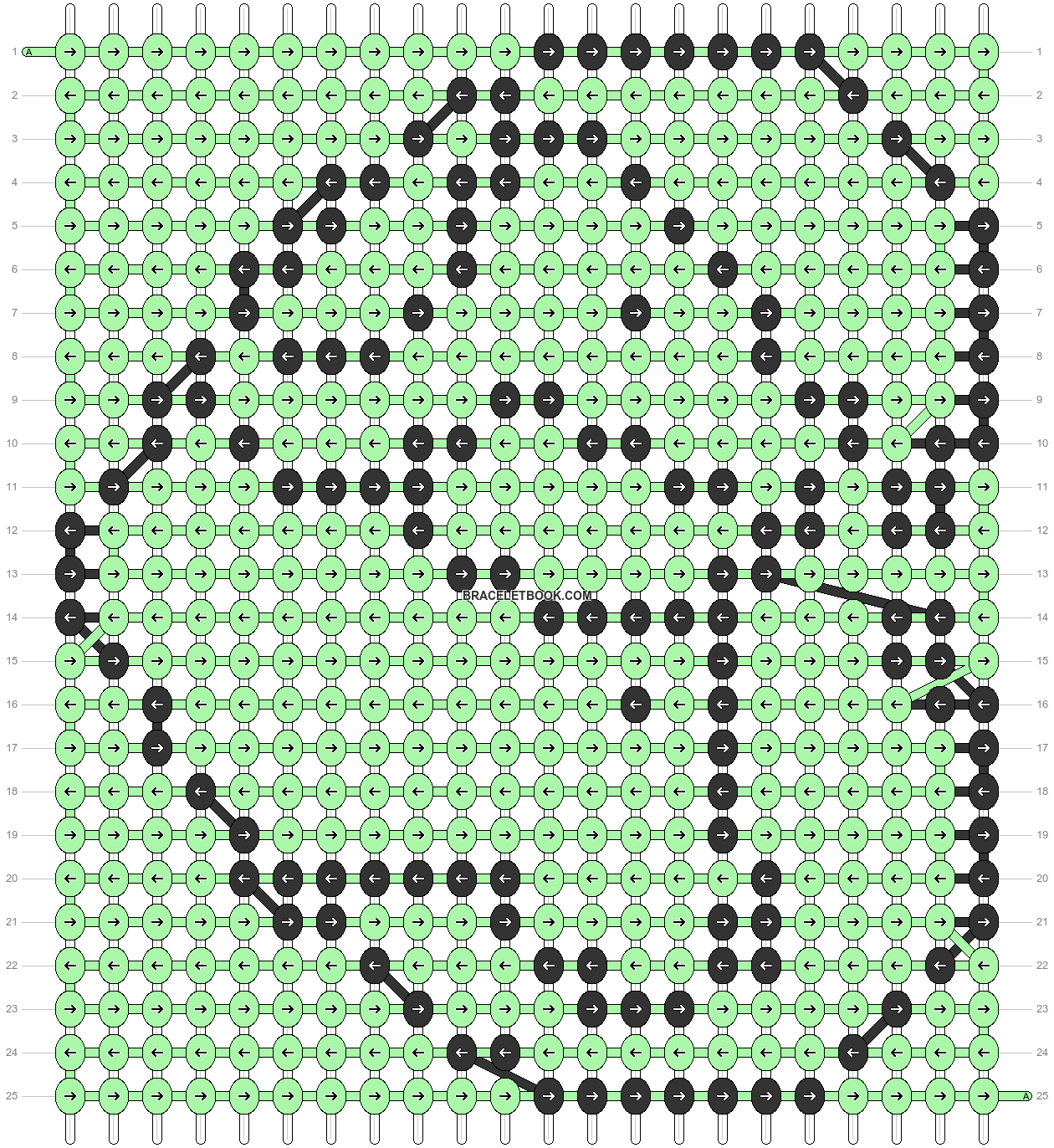 Alpha pattern #87656 pattern