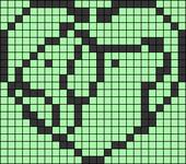 Alpha pattern #87656