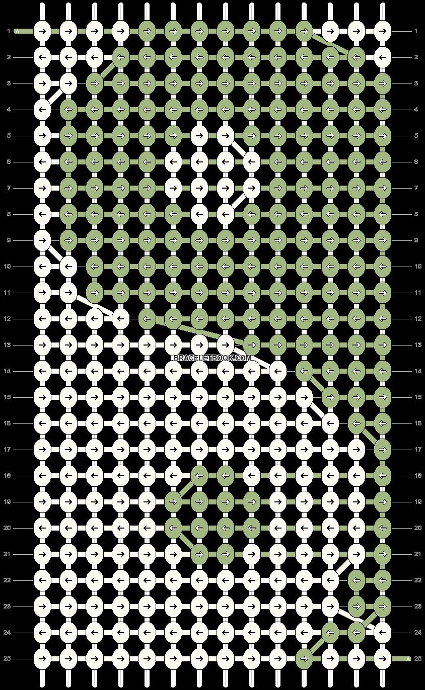 Alpha pattern #87658 pattern