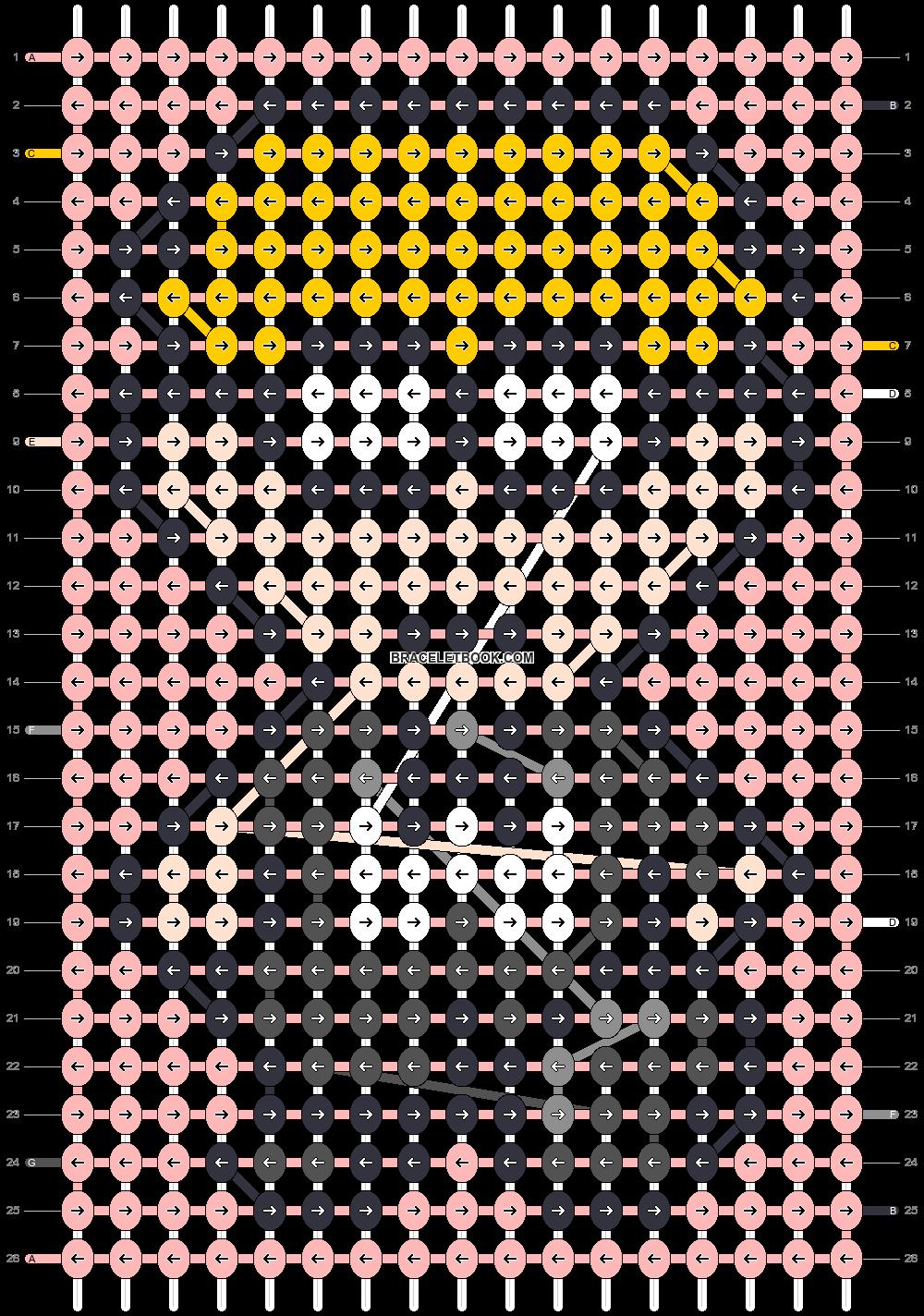 Alpha pattern #87660 pattern