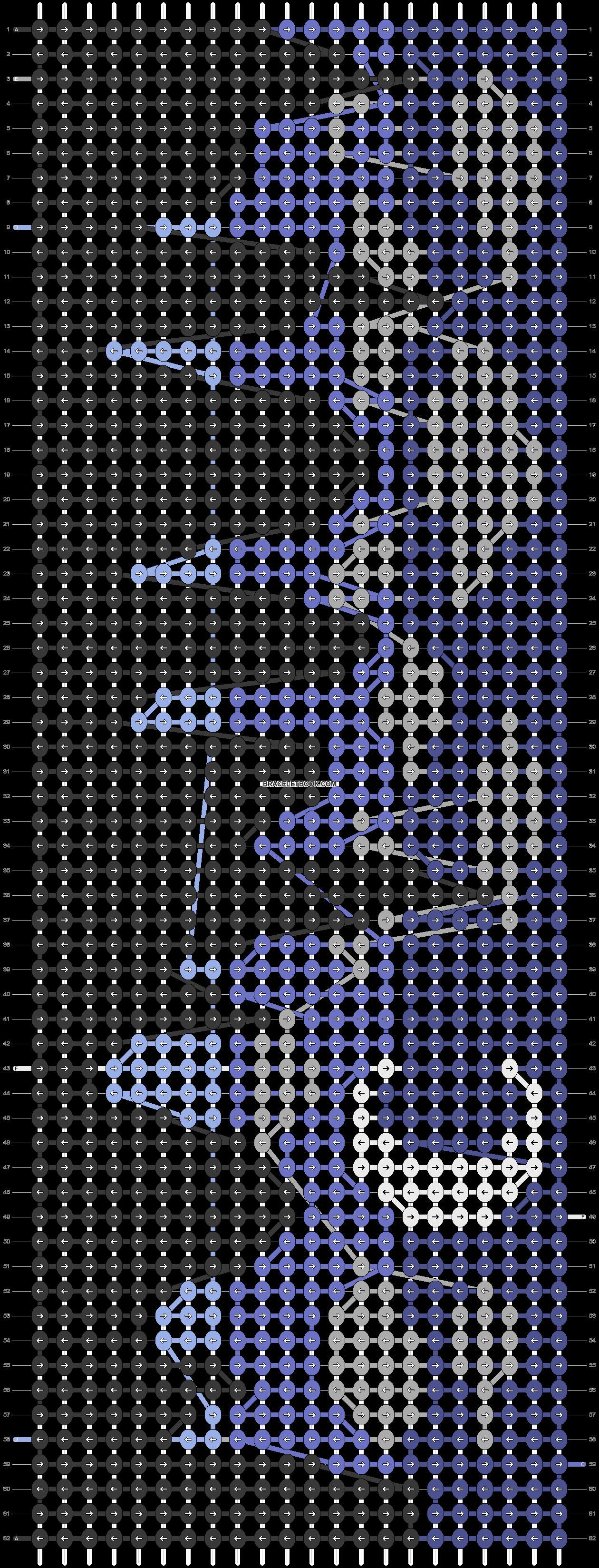 Alpha pattern #87661 pattern