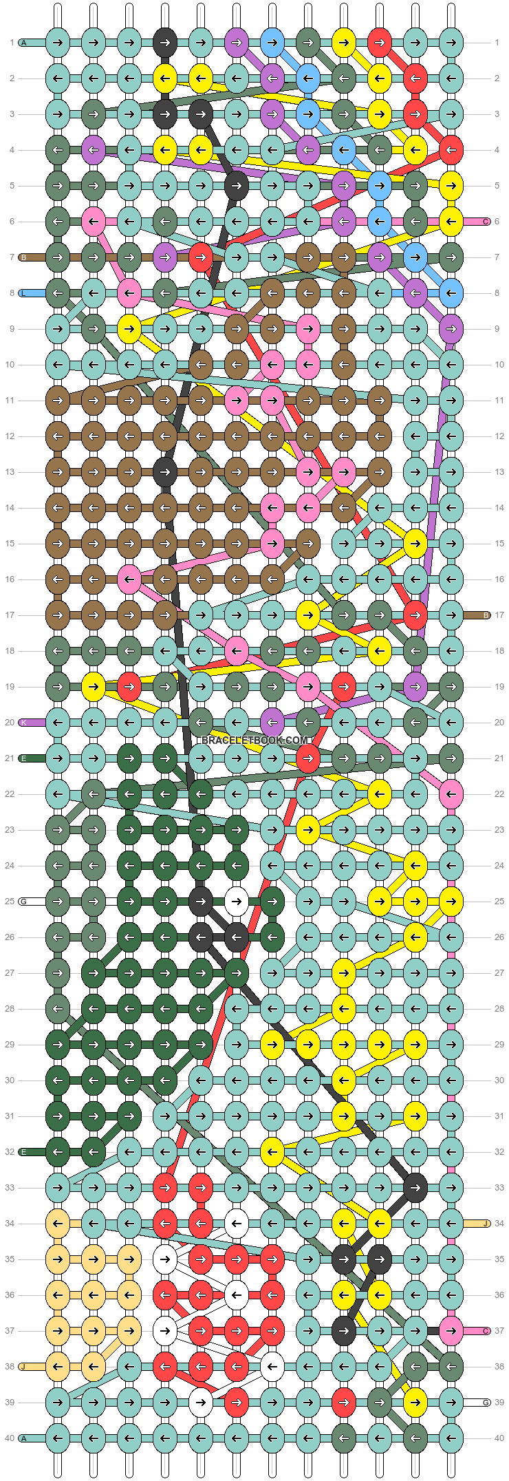 Alpha pattern #87663 pattern