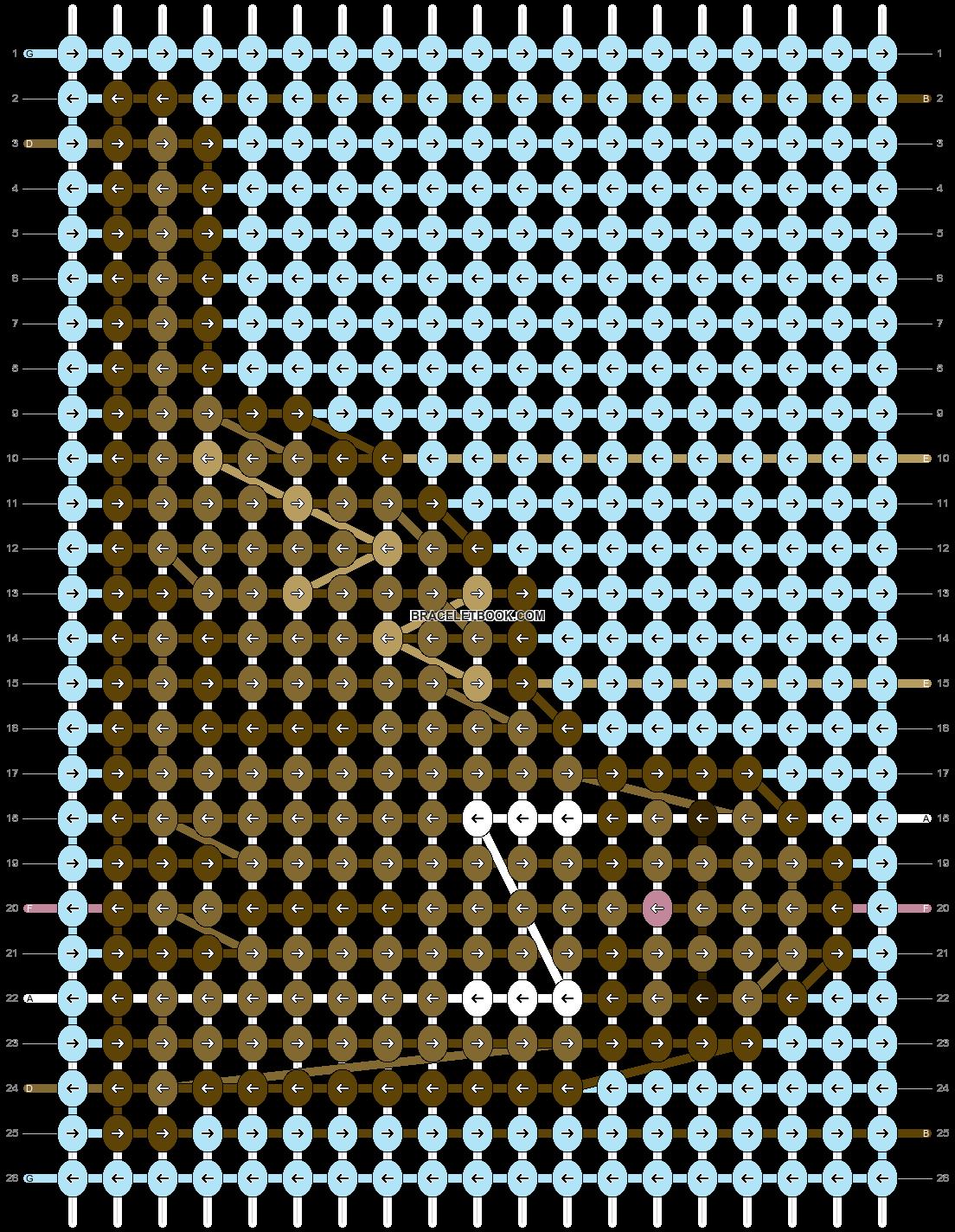 Alpha pattern #87670 pattern