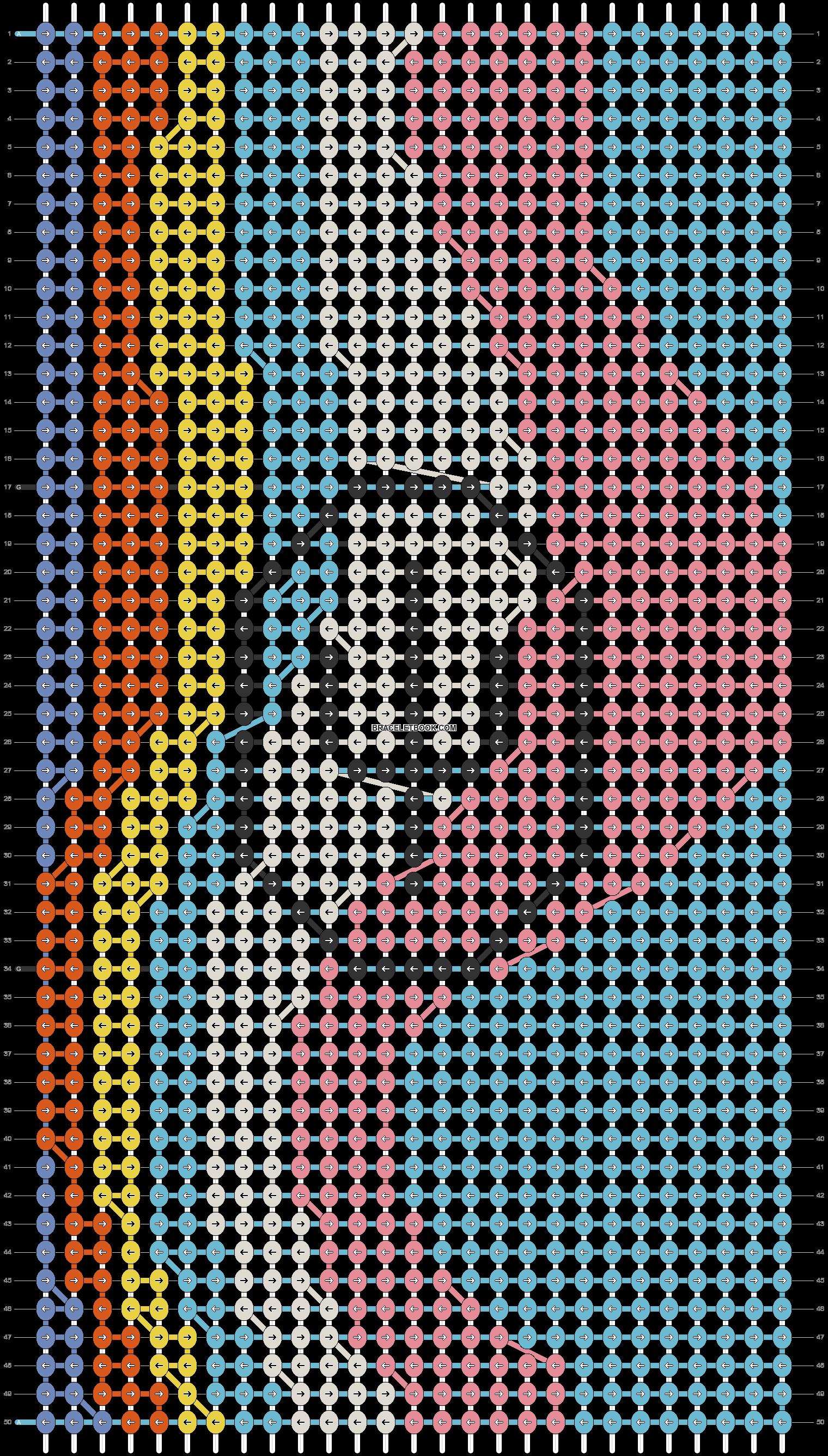Alpha pattern #87698 pattern