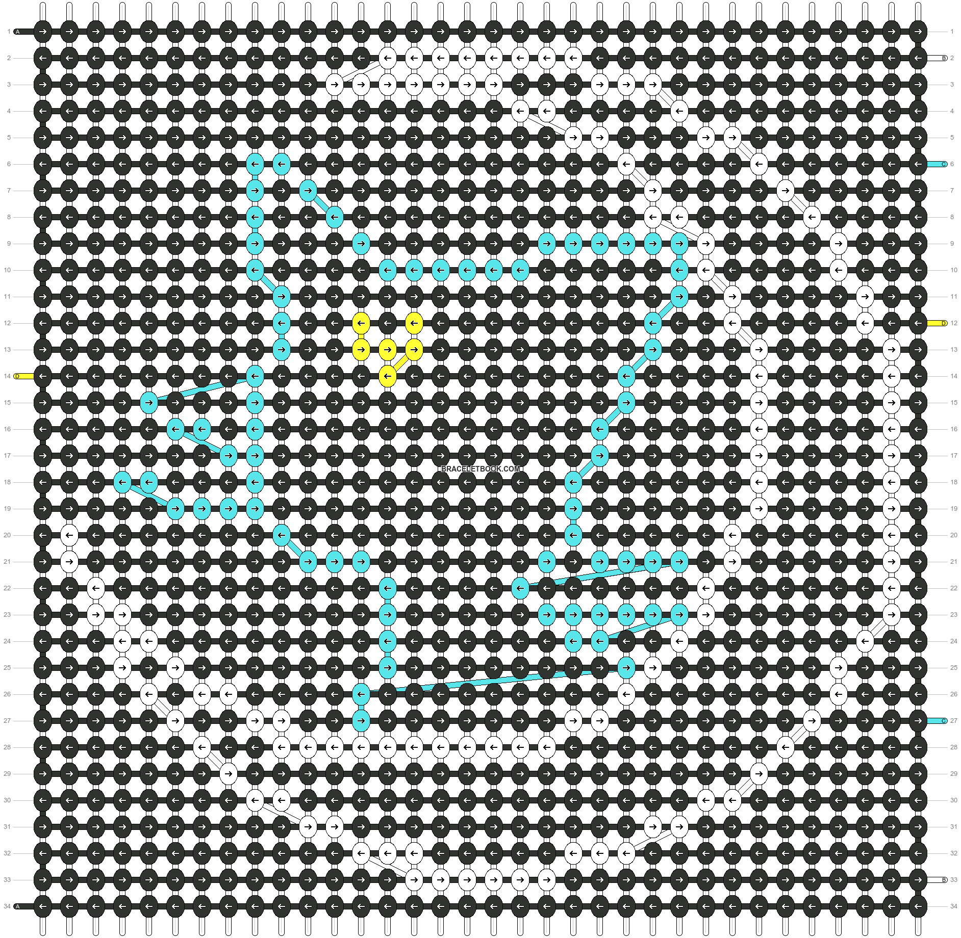 Alpha pattern #87705 pattern