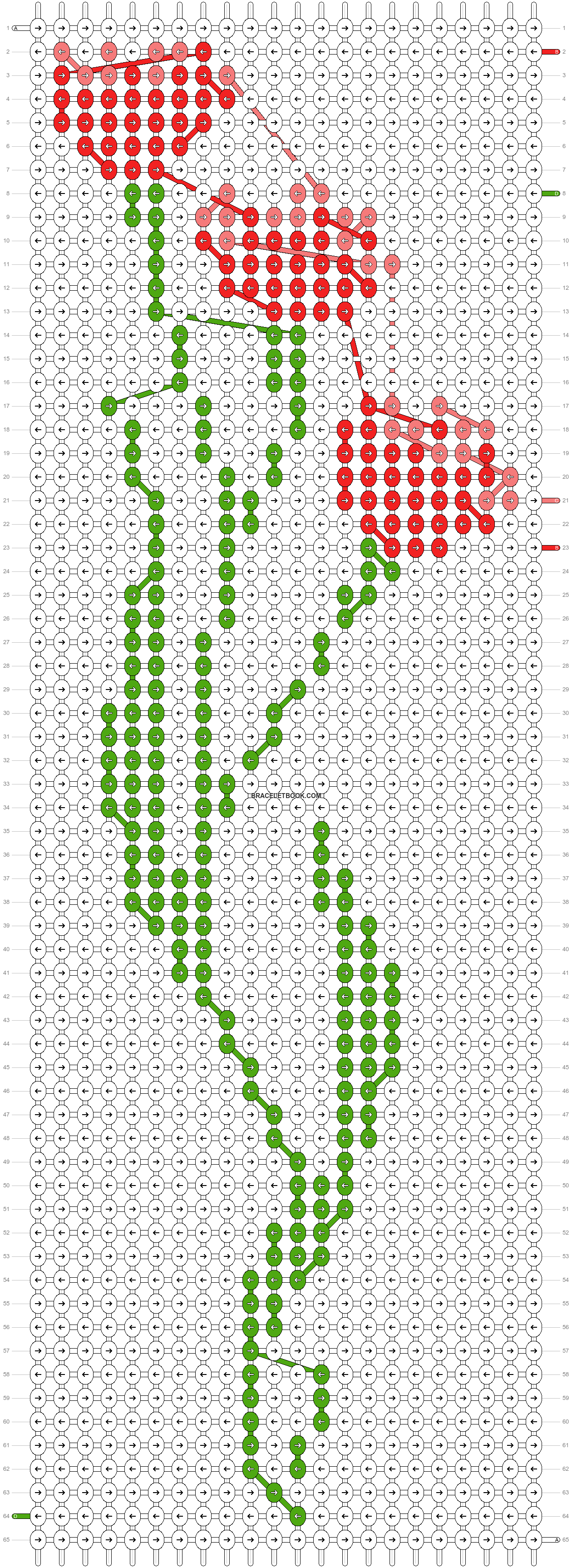 Alpha pattern #87708 pattern