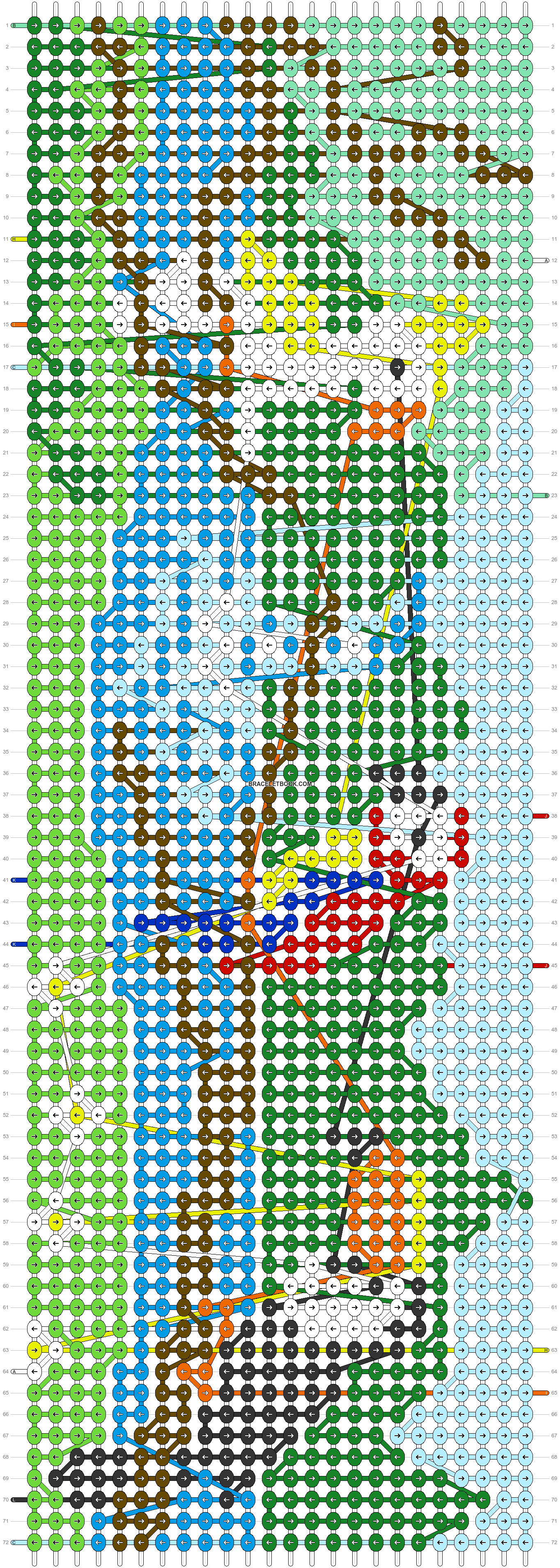 Alpha pattern #87727 pattern