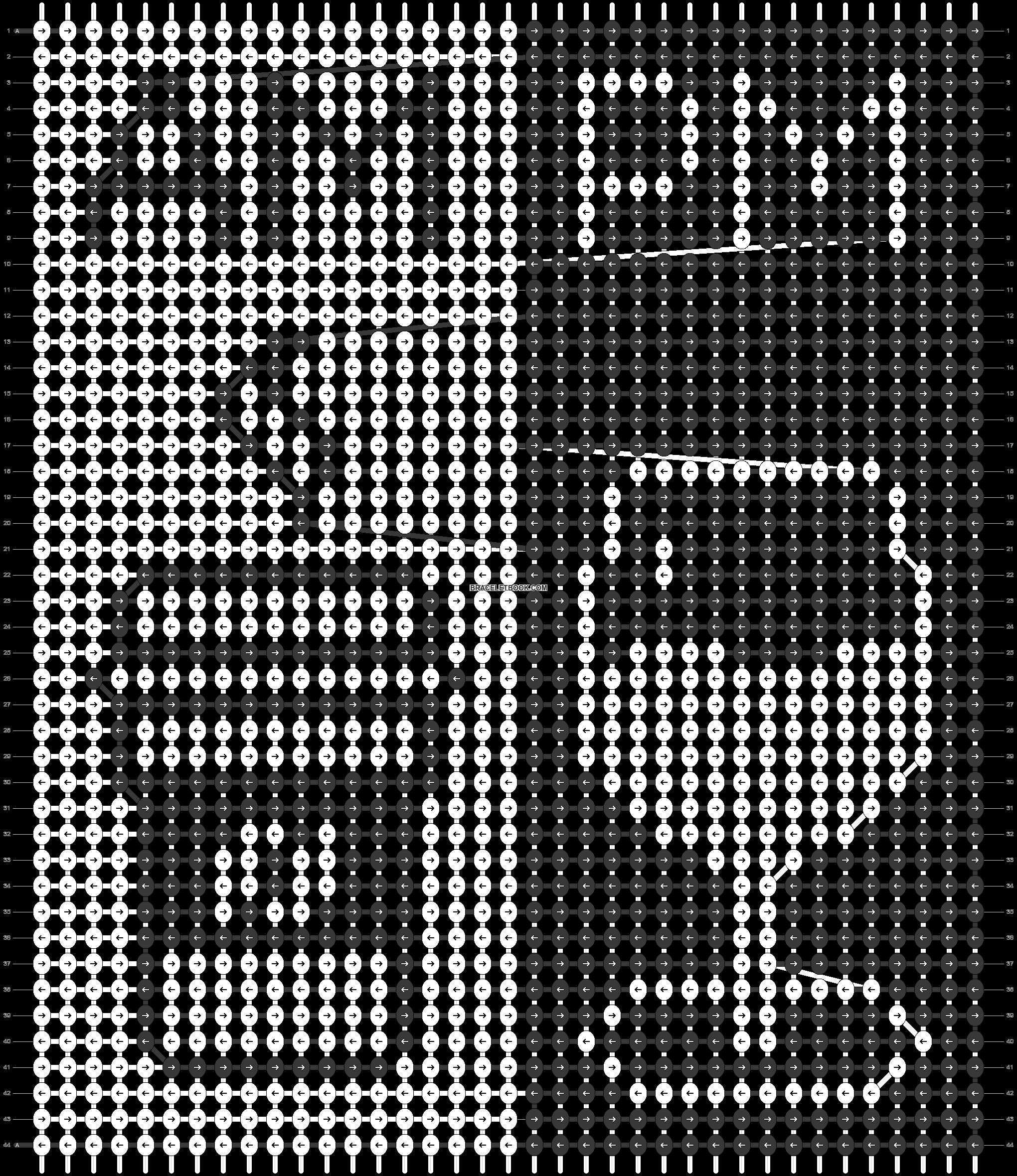 Alpha pattern #87737 pattern