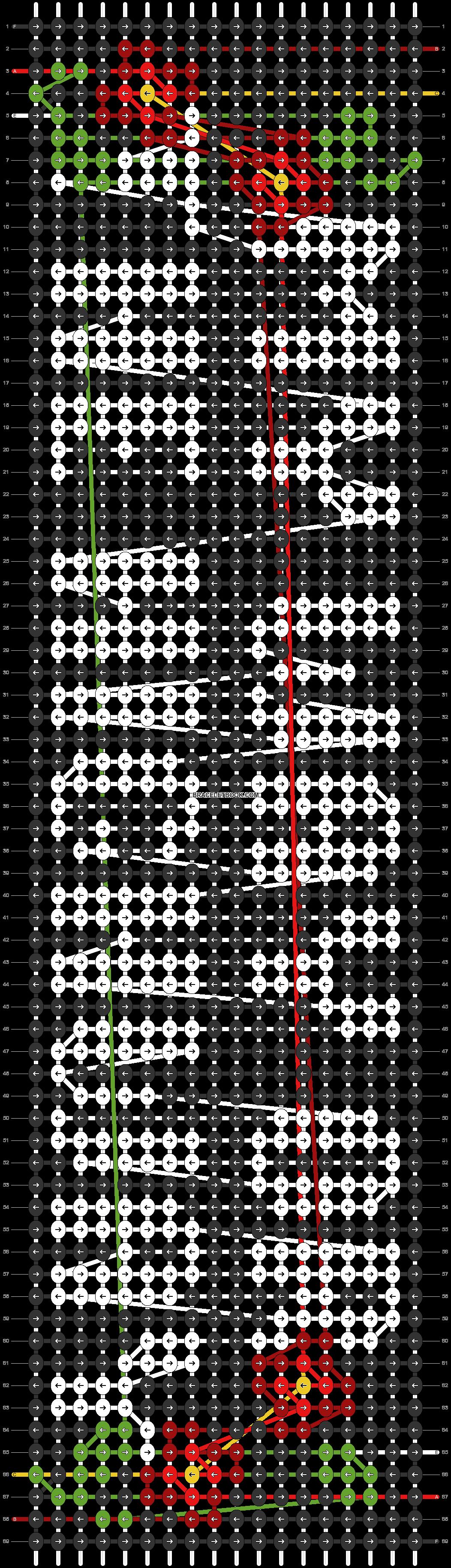 Alpha pattern #87740 pattern