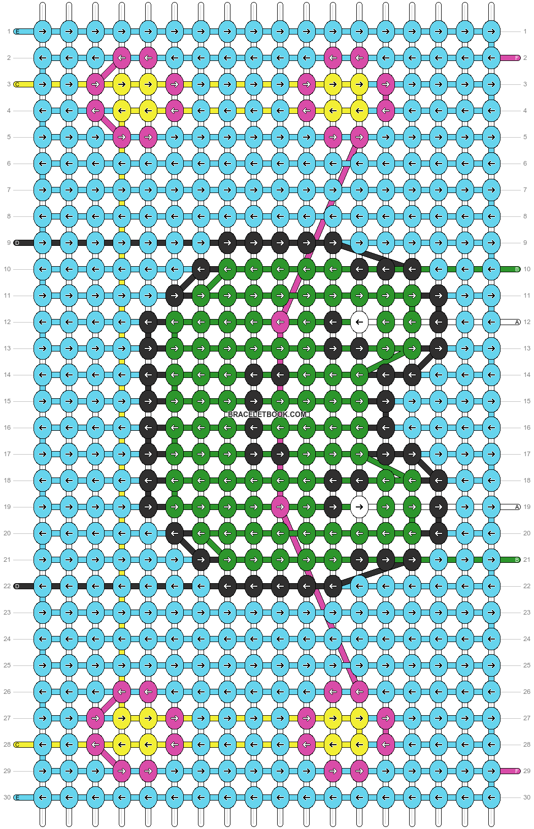 Alpha pattern #87742 pattern