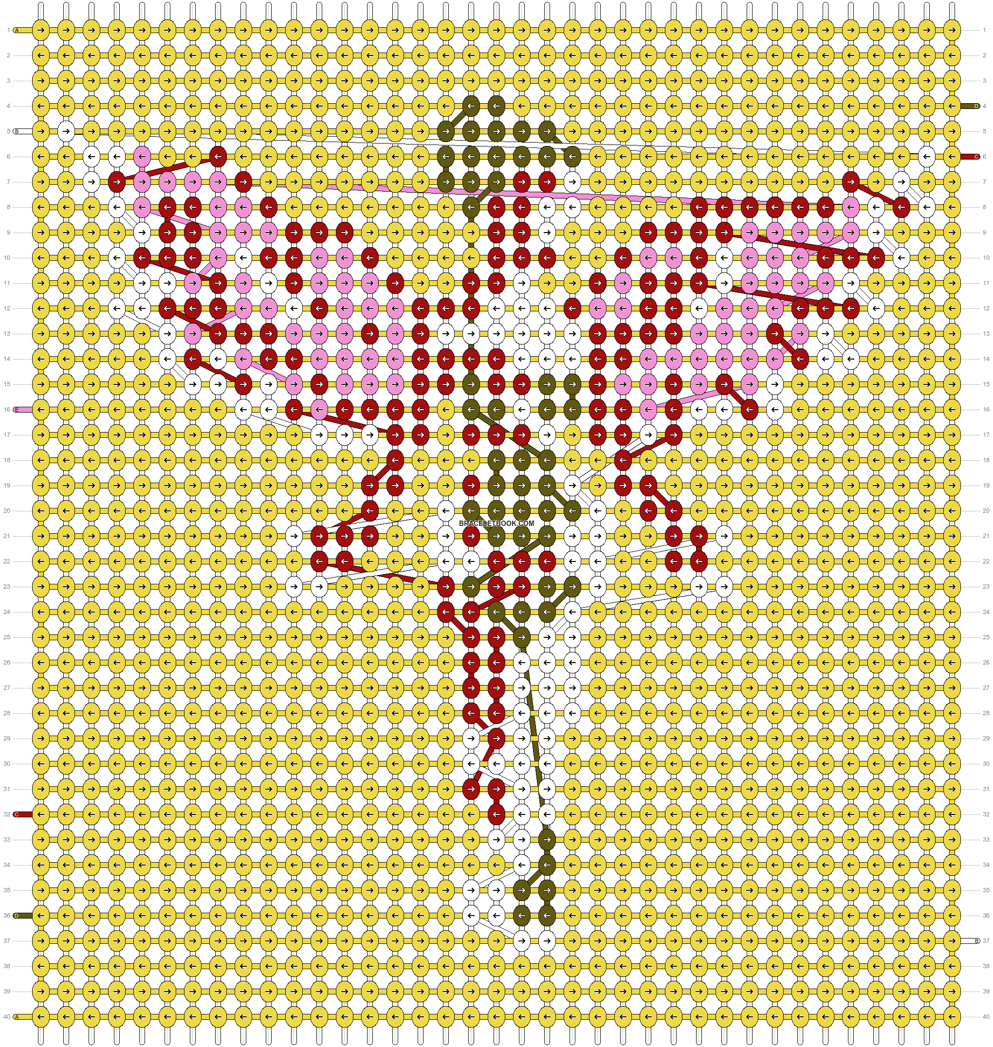 Alpha pattern #87758 pattern