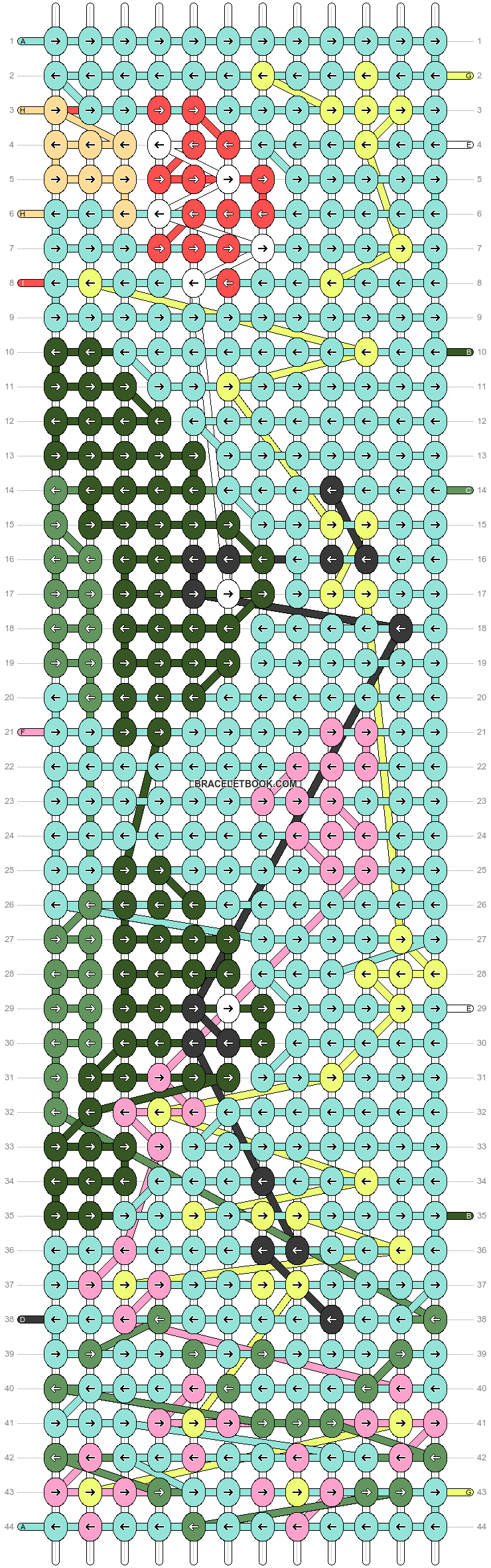 Alpha pattern #87764 pattern