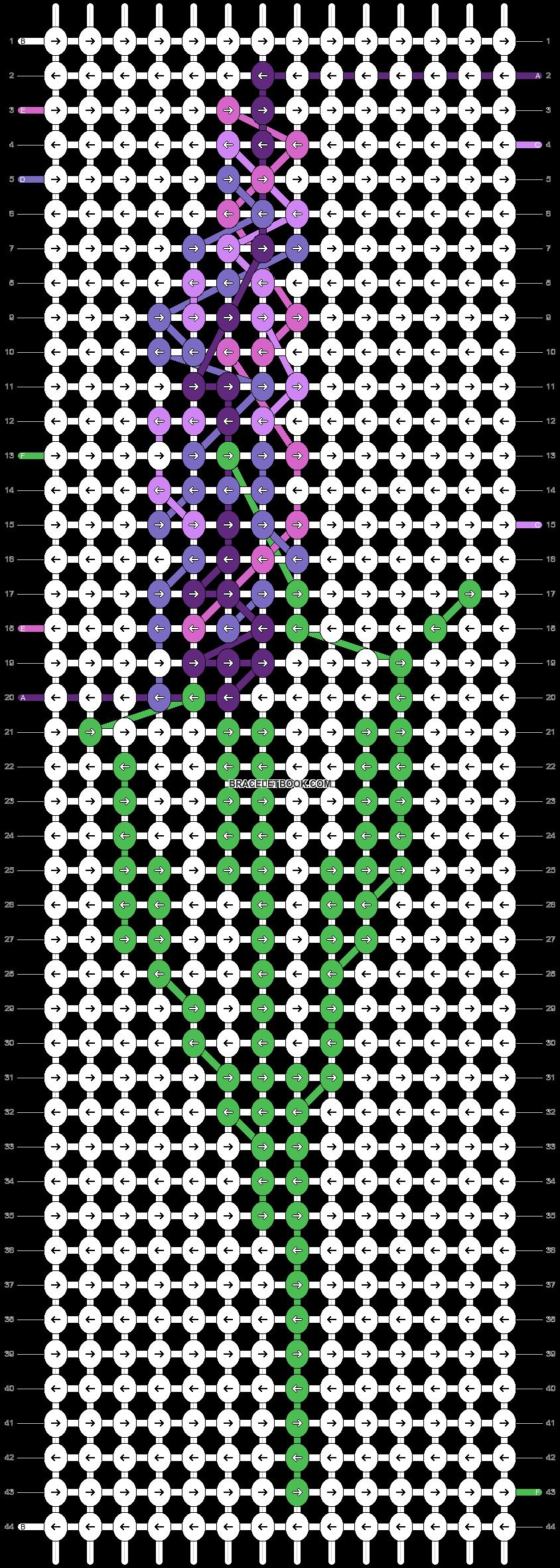 Alpha pattern #87765 pattern